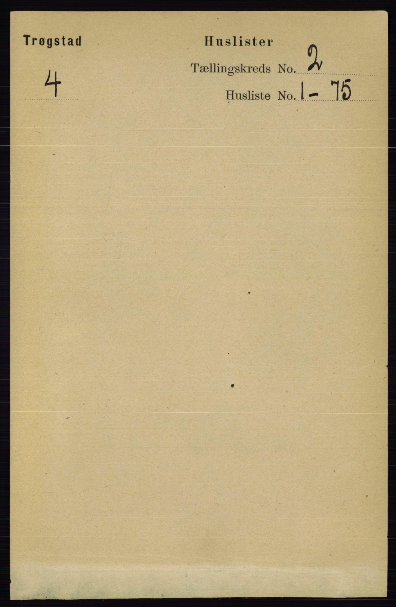 RA, Folketelling 1891 for 0122 Trøgstad herred, 1891, s. 470