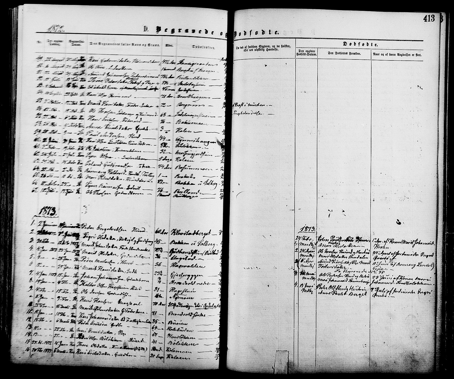 SAH, Nord-Fron prestekontor, Ministerialbok nr. 2, 1865-1883, s. 413