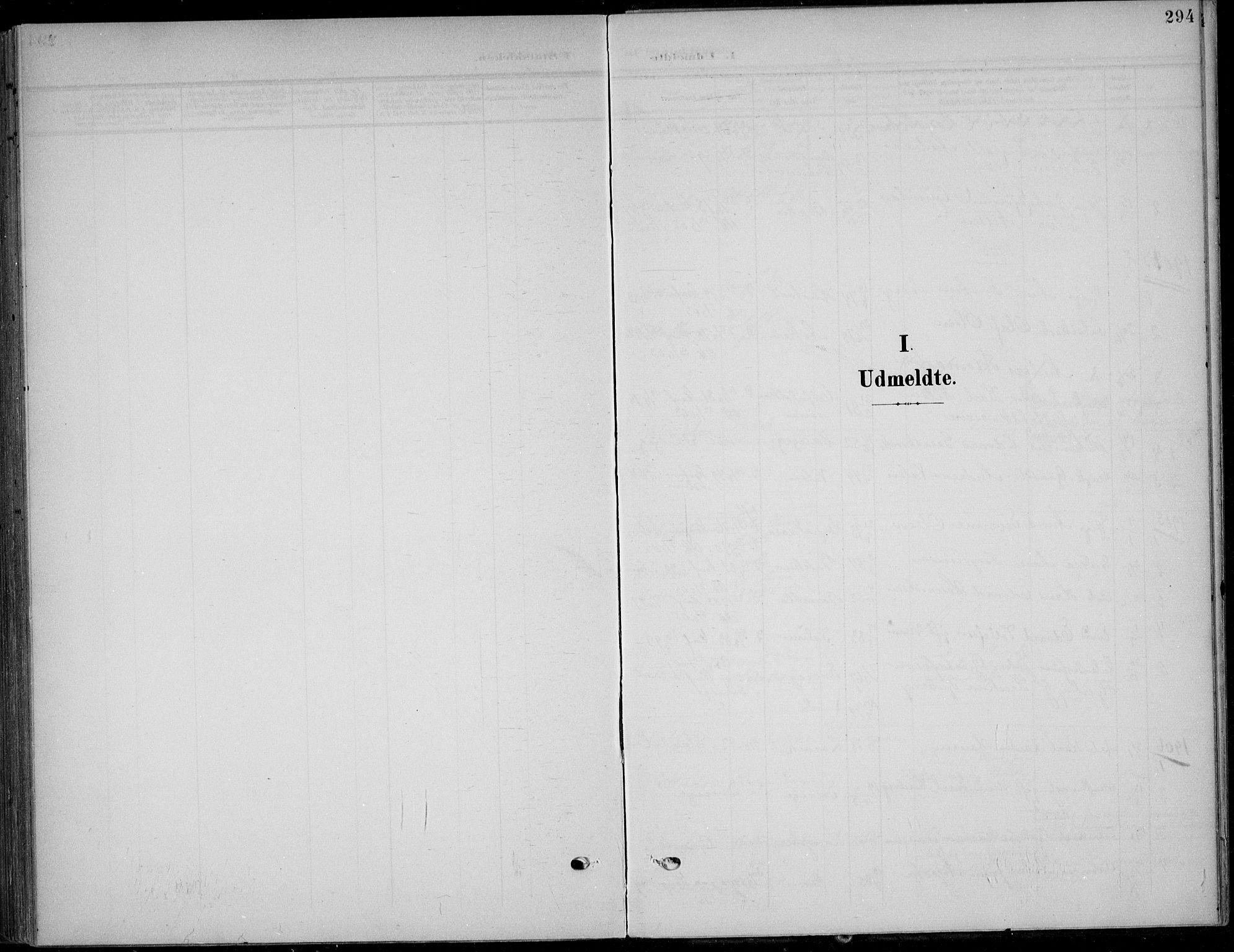 SAKO, Solum kirkebøker, F/Fb/L0003: Ministerialbok nr. II 3, 1901-1912, s. 294