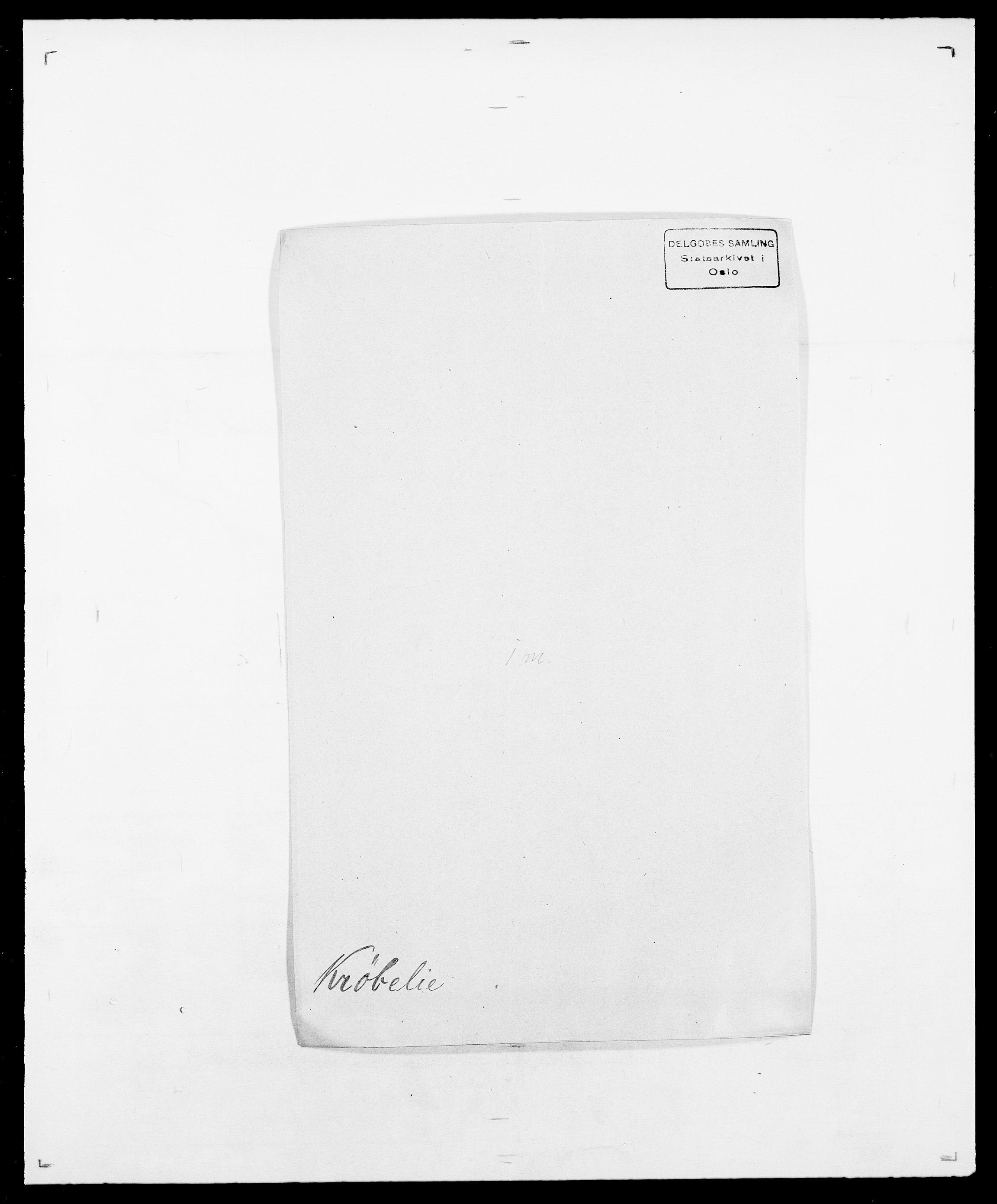 SAO, Delgobe, Charles Antoine - samling, D/Da/L0022: Krog - Lasteen, s. 187