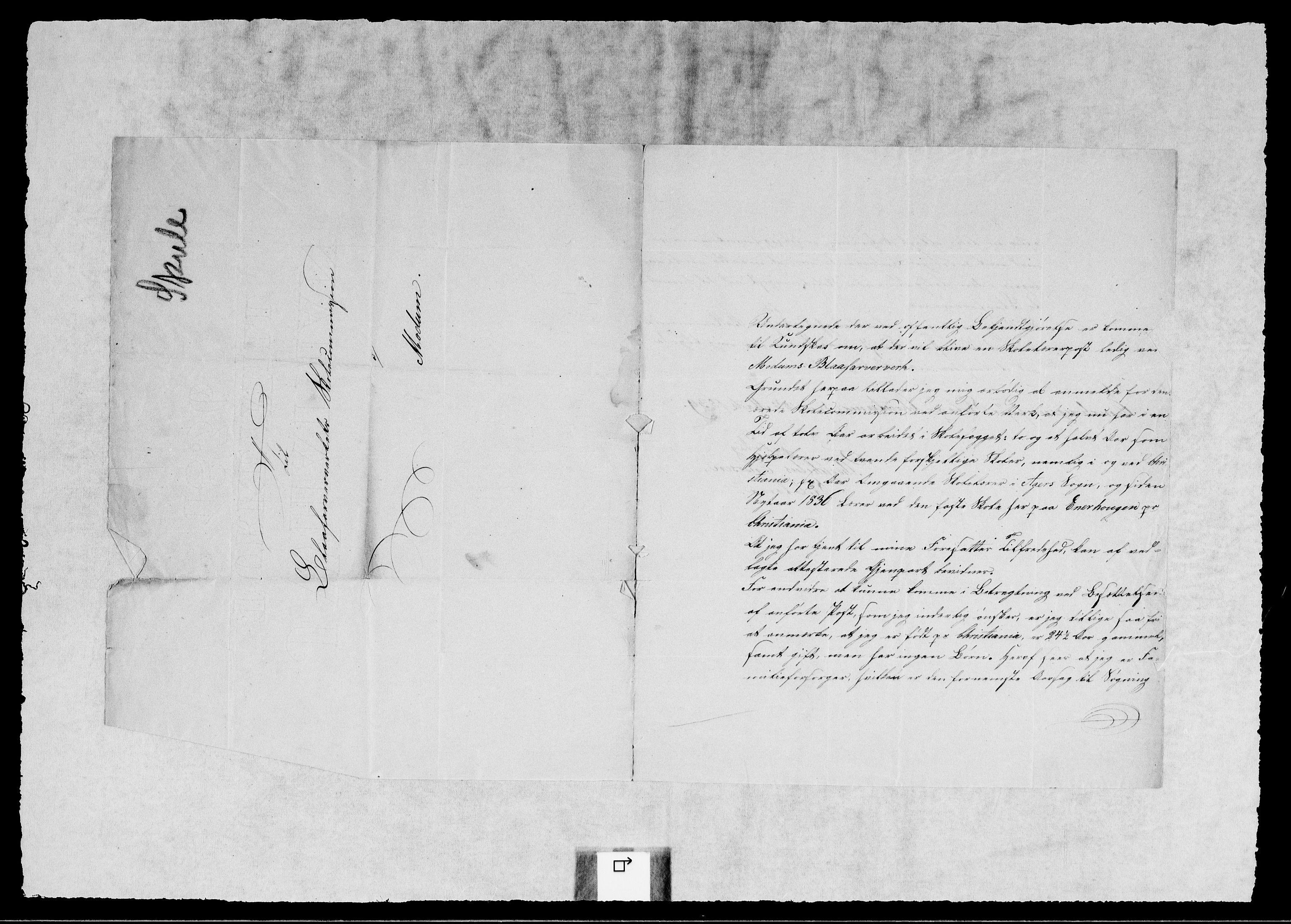 RA, Modums Blaafarveværk, G/Gb/L0123, 1839-1840, s. 2