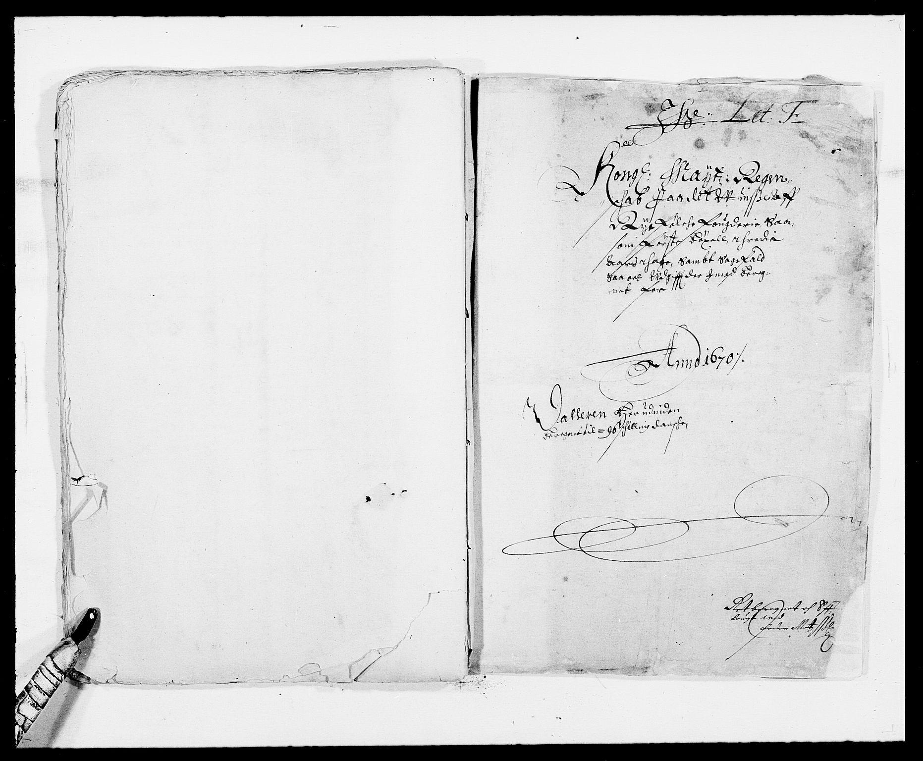 RA, Rentekammeret inntil 1814, Reviderte regnskaper, Fogderegnskap, R47/L2843: Fogderegnskap Ryfylke, 1670-1671, s. 200