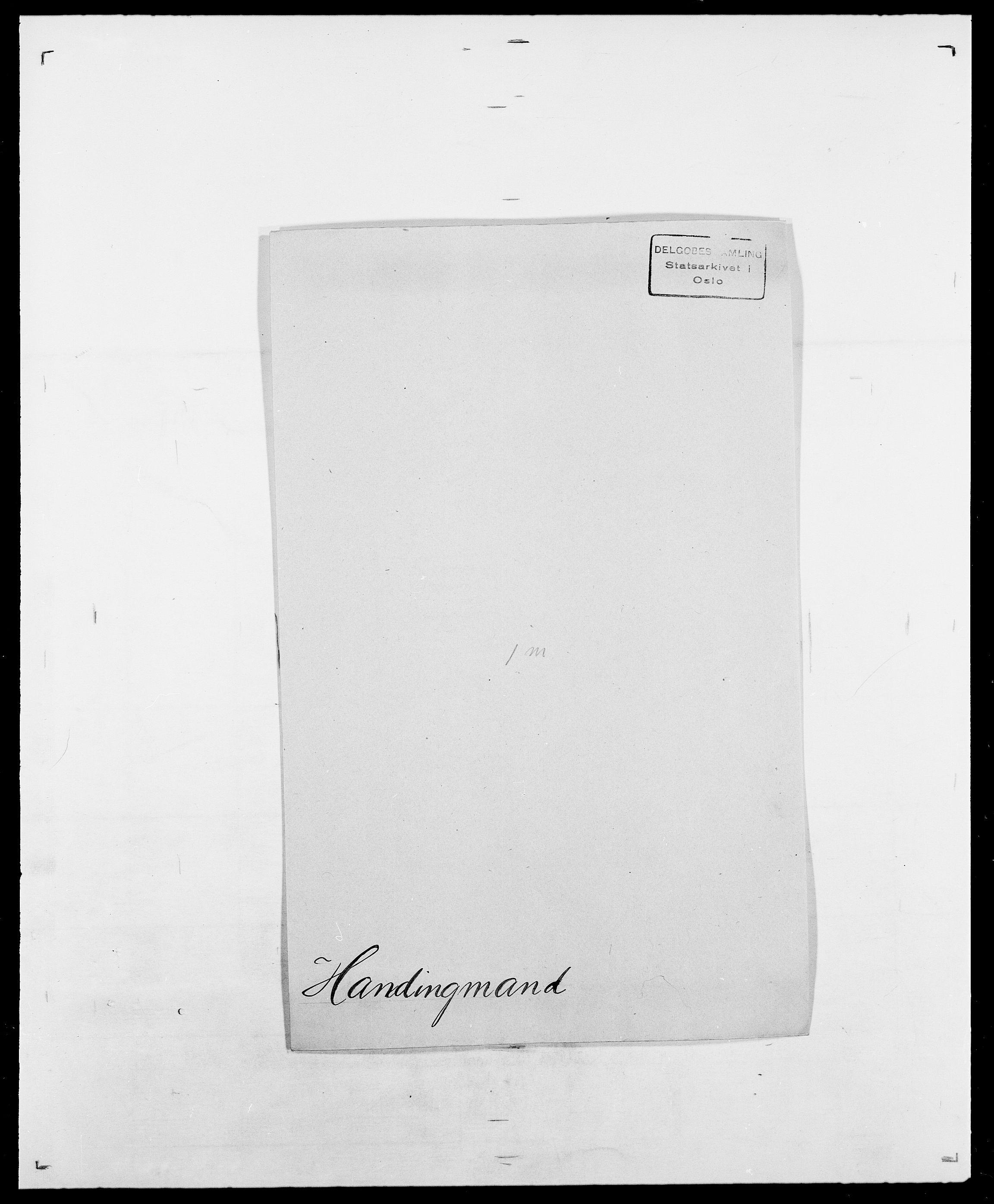 SAO, Delgobe, Charles Antoine - samling, D/Da/L0016: Hamborg - Hektoen, s. 106