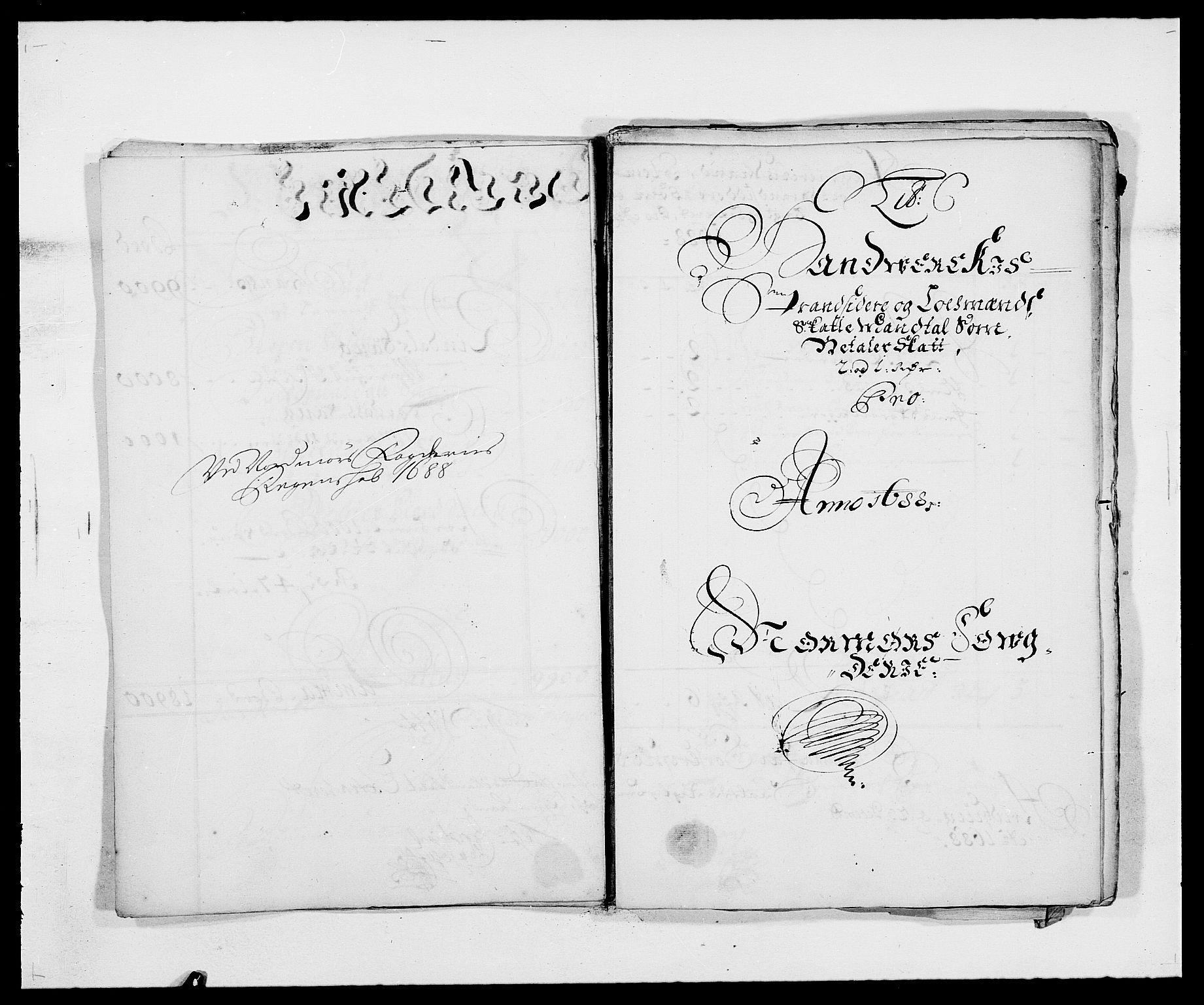 RA, Rentekammeret inntil 1814, Reviderte regnskaper, Fogderegnskap, R56/L3733: Fogderegnskap Nordmøre, 1687-1689, s. 232