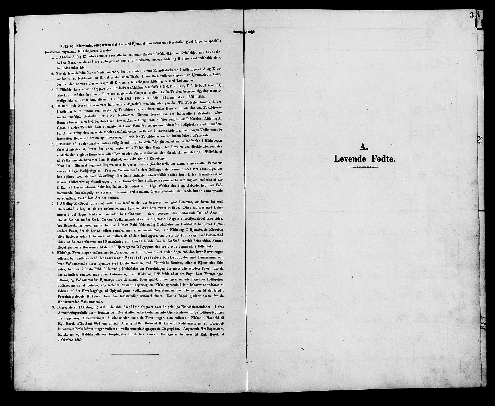 SAH, Ringebu prestekontor, Klokkerbok nr. 7, 1890-1910, s. 3