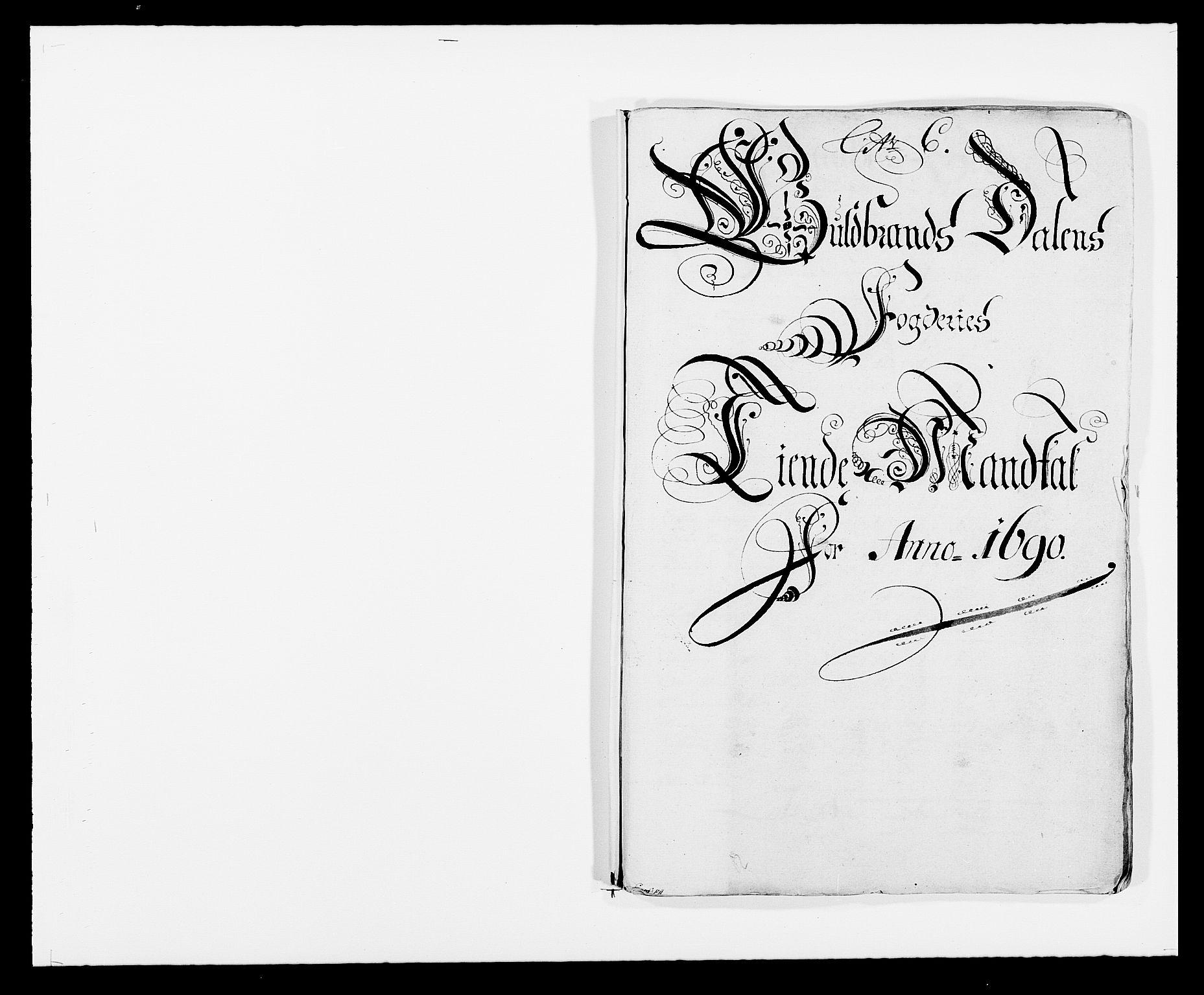 RA, Rentekammeret inntil 1814, Reviderte regnskaper, Fogderegnskap, R17/L1165: Fogderegnskap Gudbrandsdal, 1690-1692, s. 50