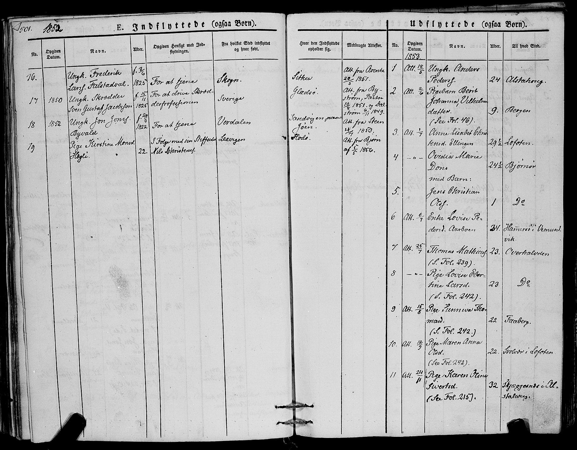 SAT, Ministerialprotokoller, klokkerbøker og fødselsregistre - Nord-Trøndelag, 773/L0614: Ministerialbok nr. 773A05, 1831-1856, s. 501