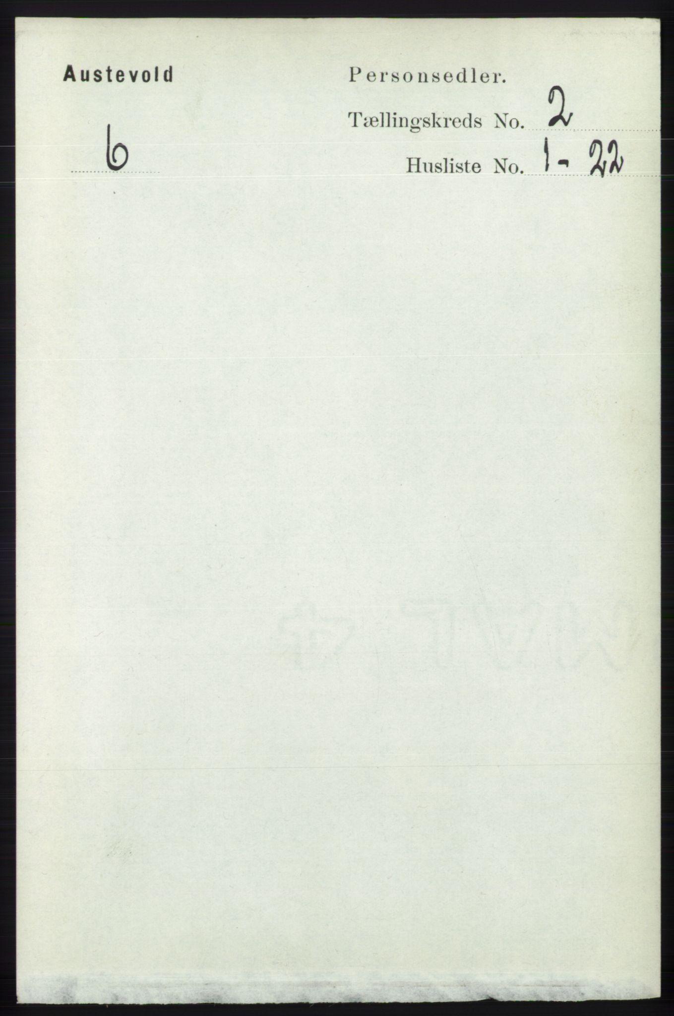 RA, Folketelling 1891 for 1244 Austevoll herred, 1891, s. 613