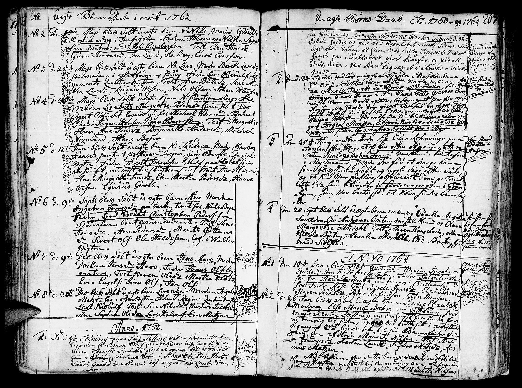 SAT, Ministerialprotokoller, klokkerbøker og fødselsregistre - Sør-Trøndelag, 602/L0103: Ministerialbok nr. 602A01, 1732-1774, s. 267