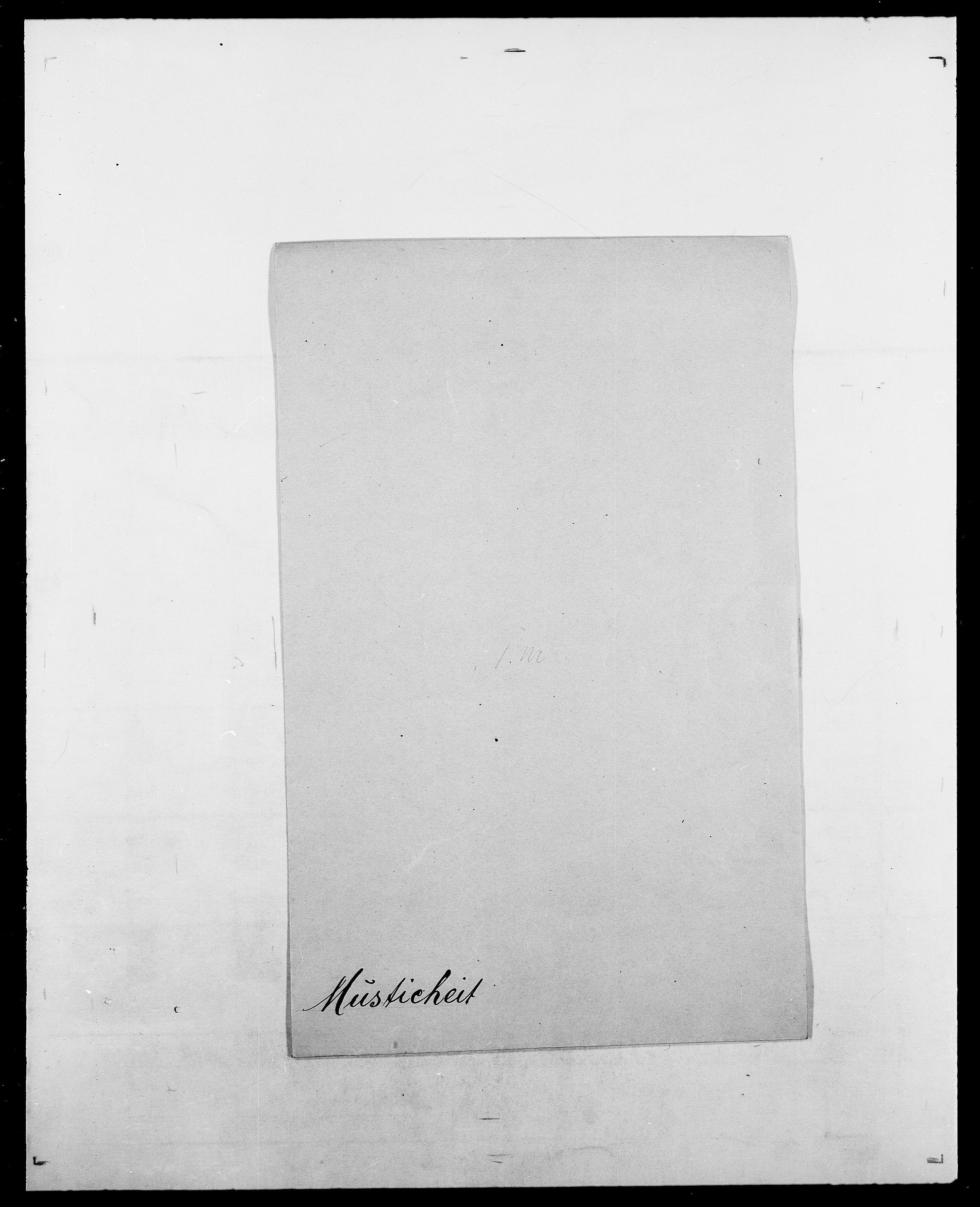 SAO, Delgobe, Charles Antoine - samling, D/Da/L0027: Morath - v. Møsting, s. 280