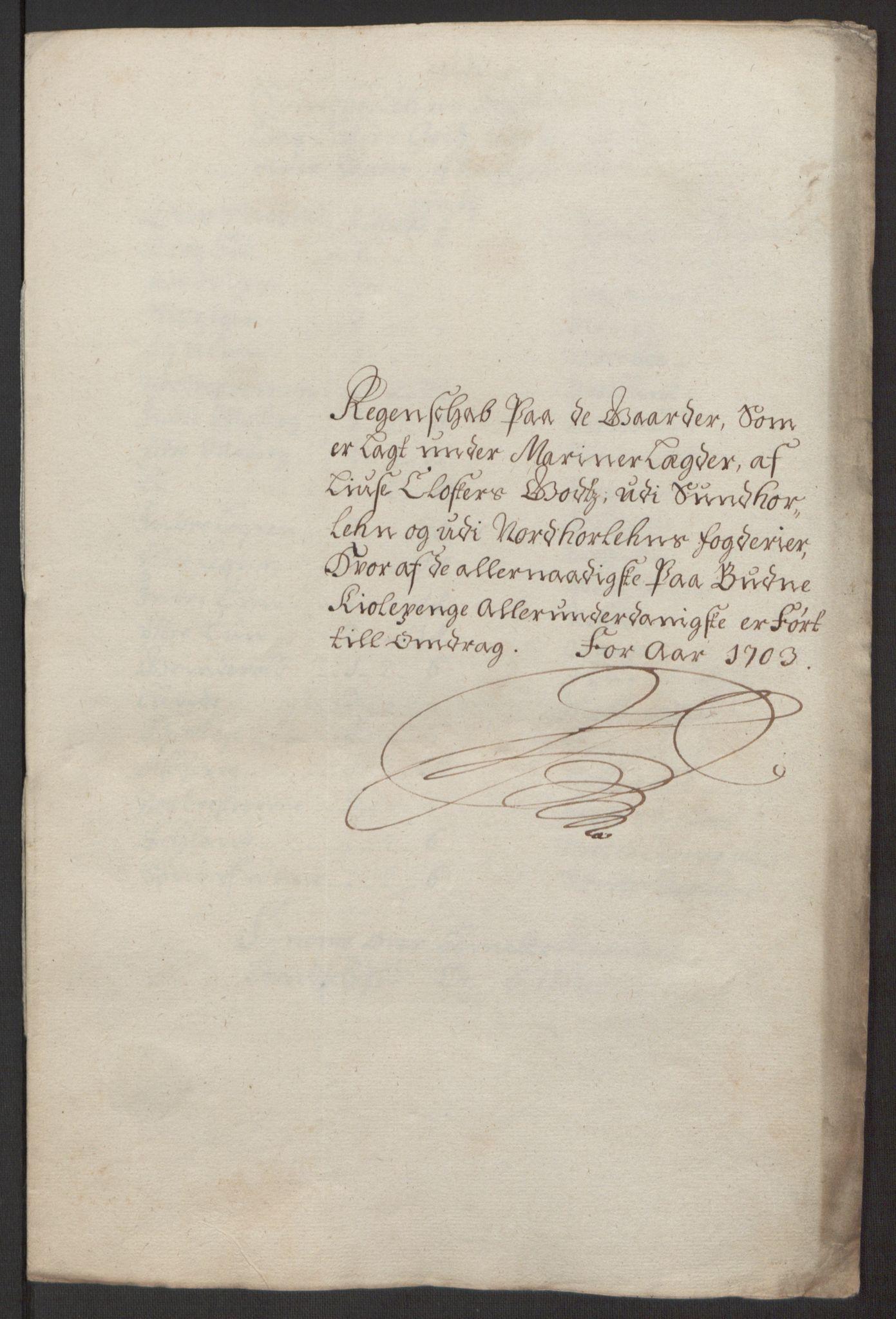 RA, Rentekammeret inntil 1814, Reviderte regnskaper, Fogderegnskap, R50/L3159: Fogderegnskap Lyse kloster, 1691-1709, s. 192