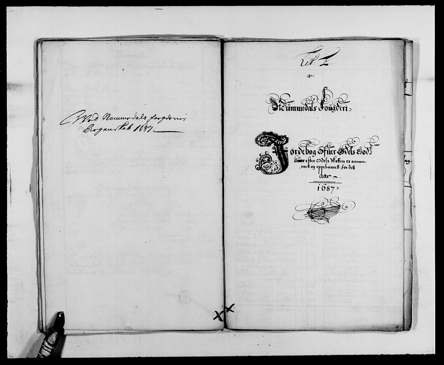 RA, Rentekammeret inntil 1814, Reviderte regnskaper, Fogderegnskap, R64/L4422: Fogderegnskap Namdal, 1687-1689, s. 21