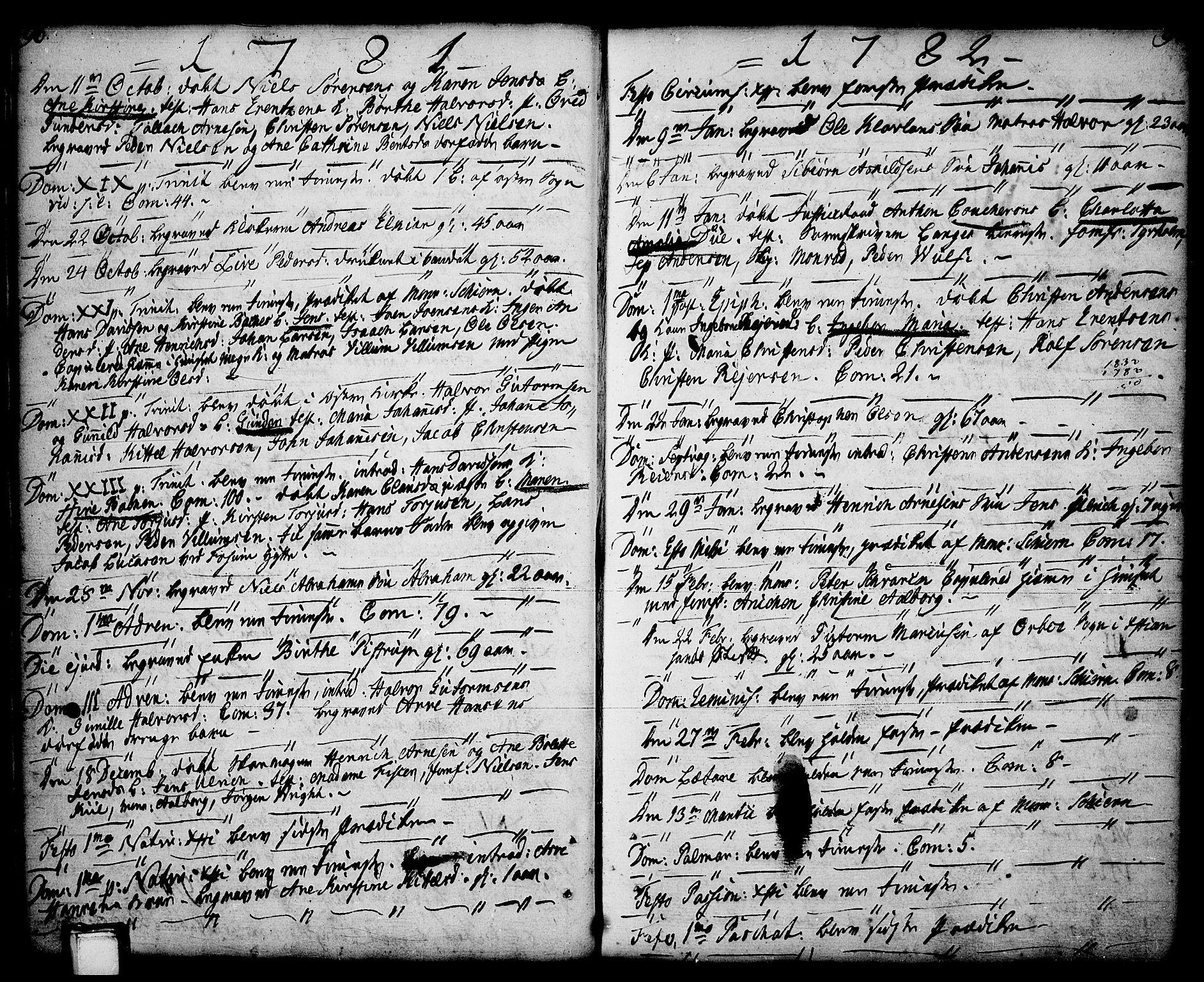 SAKO, Porsgrunn kirkebøker , F/Fa/L0001: Ministerialbok nr. 1, 1764-1814, s. 96-97