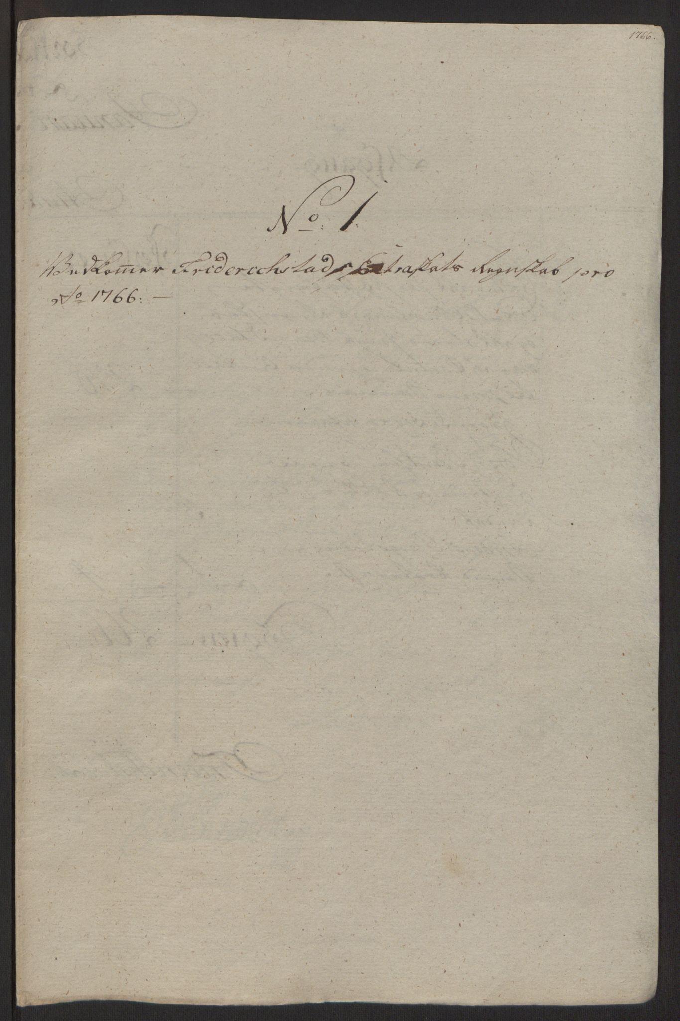RA, Rentekammeret inntil 1814, Reviderte regnskaper, Byregnskaper, R/Rb/L0029: [B3] Kontribusjonsregnskap, 1762-1772, s. 212