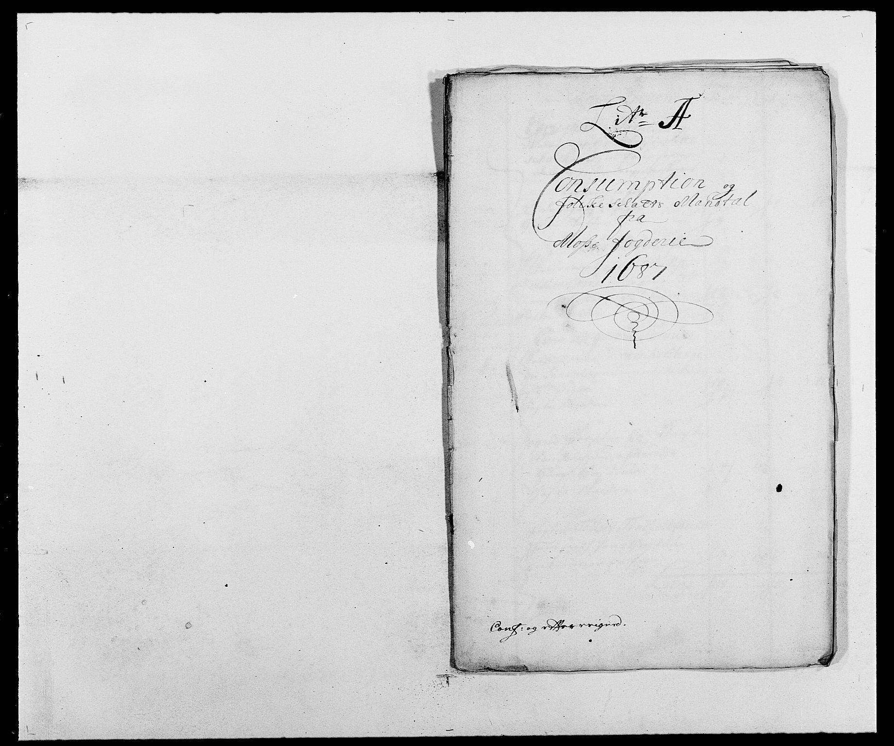 RA, Rentekammeret inntil 1814, Reviderte regnskaper, Fogderegnskap, R02/L0105: Fogderegnskap Moss og Verne kloster, 1685-1687, s. 387
