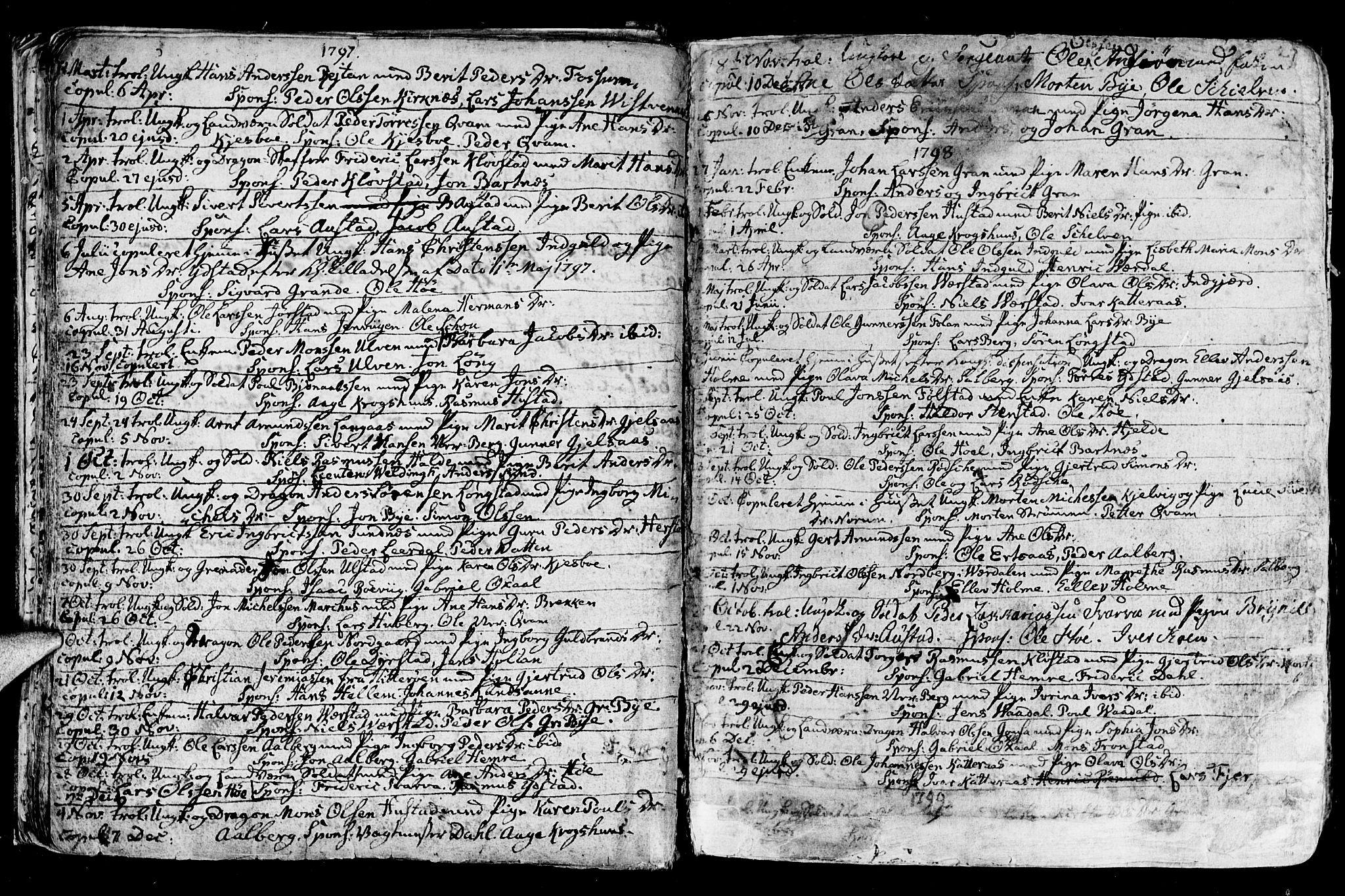 SAT, Ministerialprotokoller, klokkerbøker og fødselsregistre - Nord-Trøndelag, 730/L0273: Ministerialbok nr. 730A02, 1762-1802, s. 27