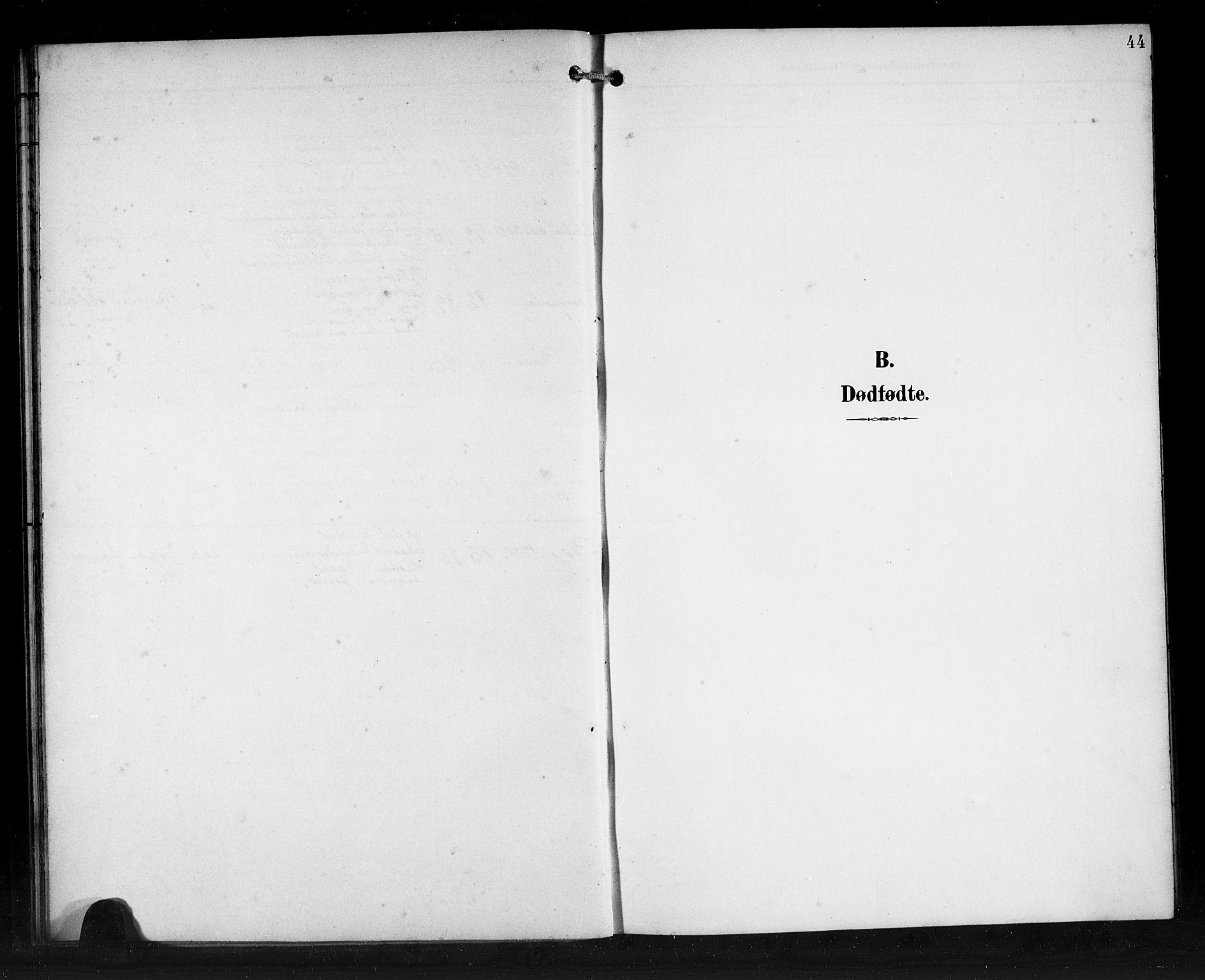 SAB, Den Norske Sjømannsmisjon i utlandet*, Ministerialbok nr. A 2, 1899-1919, s. 44