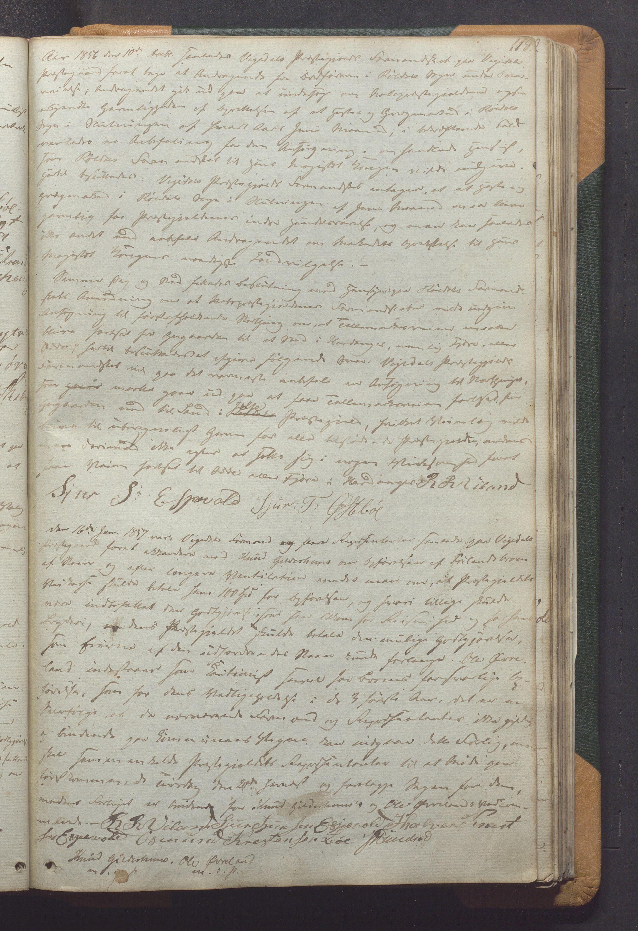 IKAR, Vikedal kommune - Formannskapet, Aaa/L0001: Møtebok, 1837-1874, s. 118a