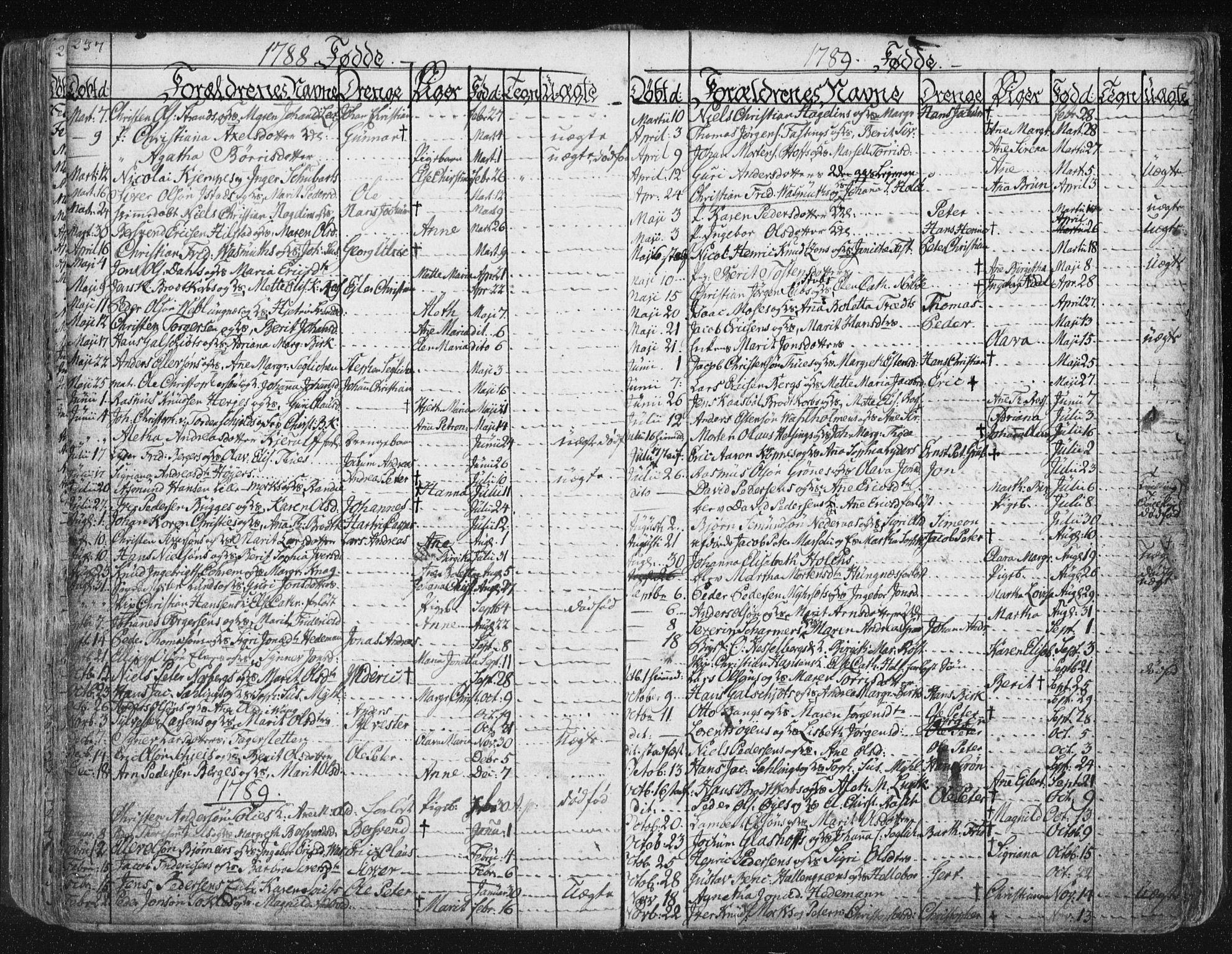 SAT, Ministerialprotokoller, klokkerbøker og fødselsregistre - Møre og Romsdal, 572/L0841: Ministerialbok nr. 572A04, 1784-1819, s. 237