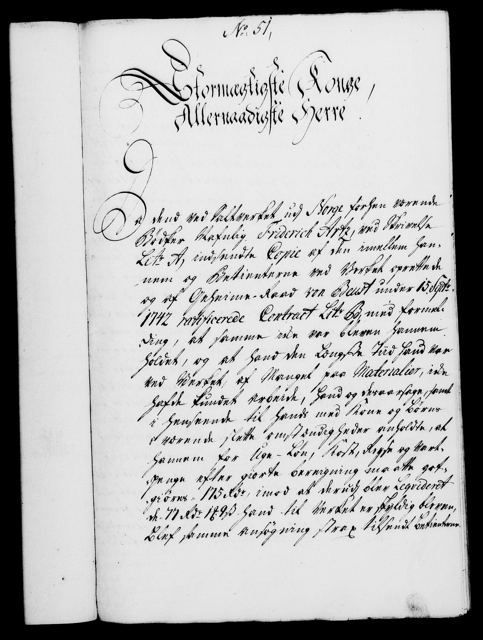 RA, Rentekammeret, Kammerkanselliet, G/Gf/Gfa/L0028: Norsk relasjons- og resolusjonsprotokoll (merket RK 52.28), 1745-1746, s. 318