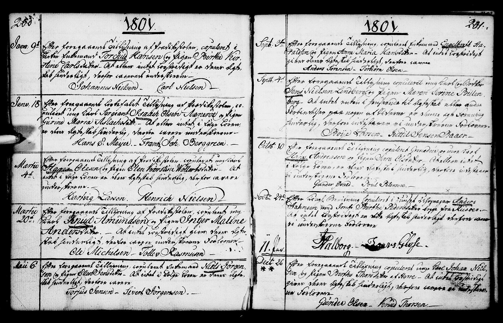 SAKO, Porsgrunn kirkebøker , F/Fa/L0003: Ministerialbok nr. 3, 1764-1814, s. 200-201