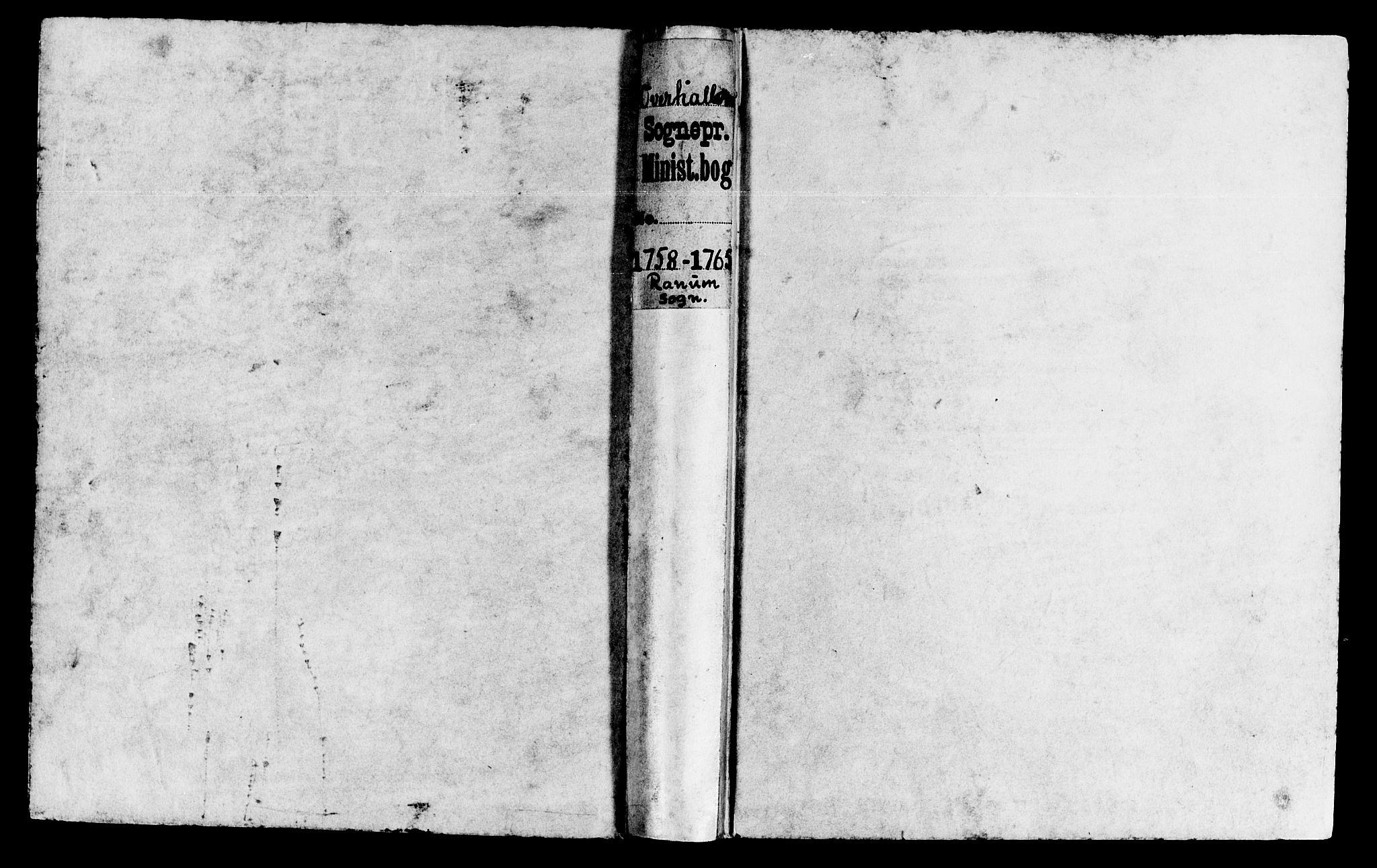 SAT, Ministerialprotokoller, klokkerbøker og fødselsregistre - Nord-Trøndelag, 764/L0543: Ministerialbok nr. 764A03, 1758-1765