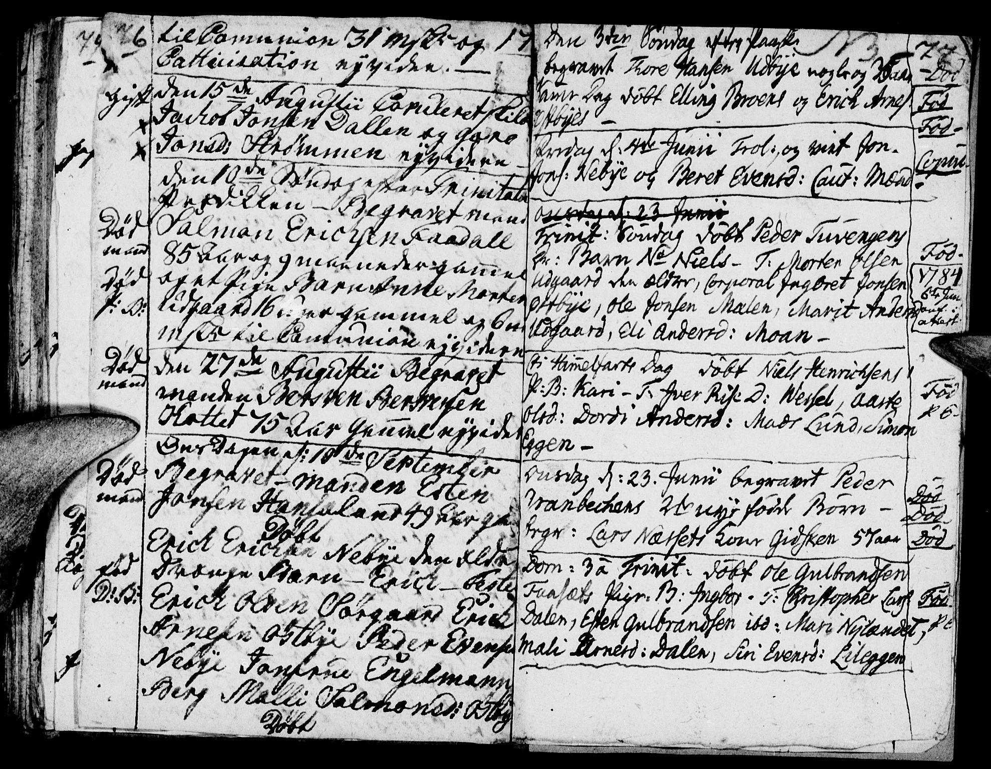 SAH, Tynset prestekontor, Ministerialbok nr. 12, 1780-1784, s. 76-77