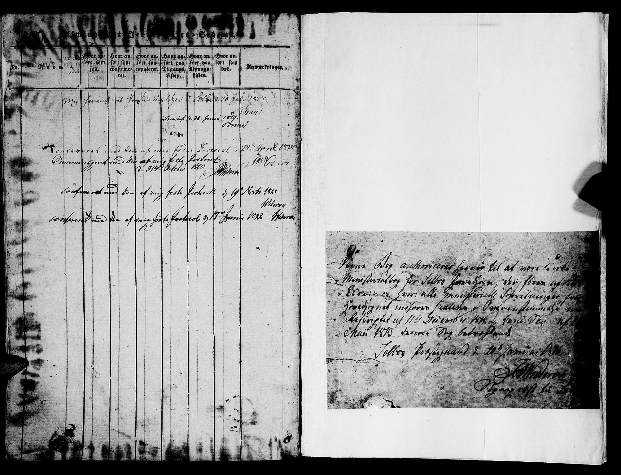 SAT, Ministerialprotokoller, klokkerbøker og fødselsregistre - Sør-Trøndelag, 695/L1152: Klokkerbok nr. 695C03, 1816-1831
