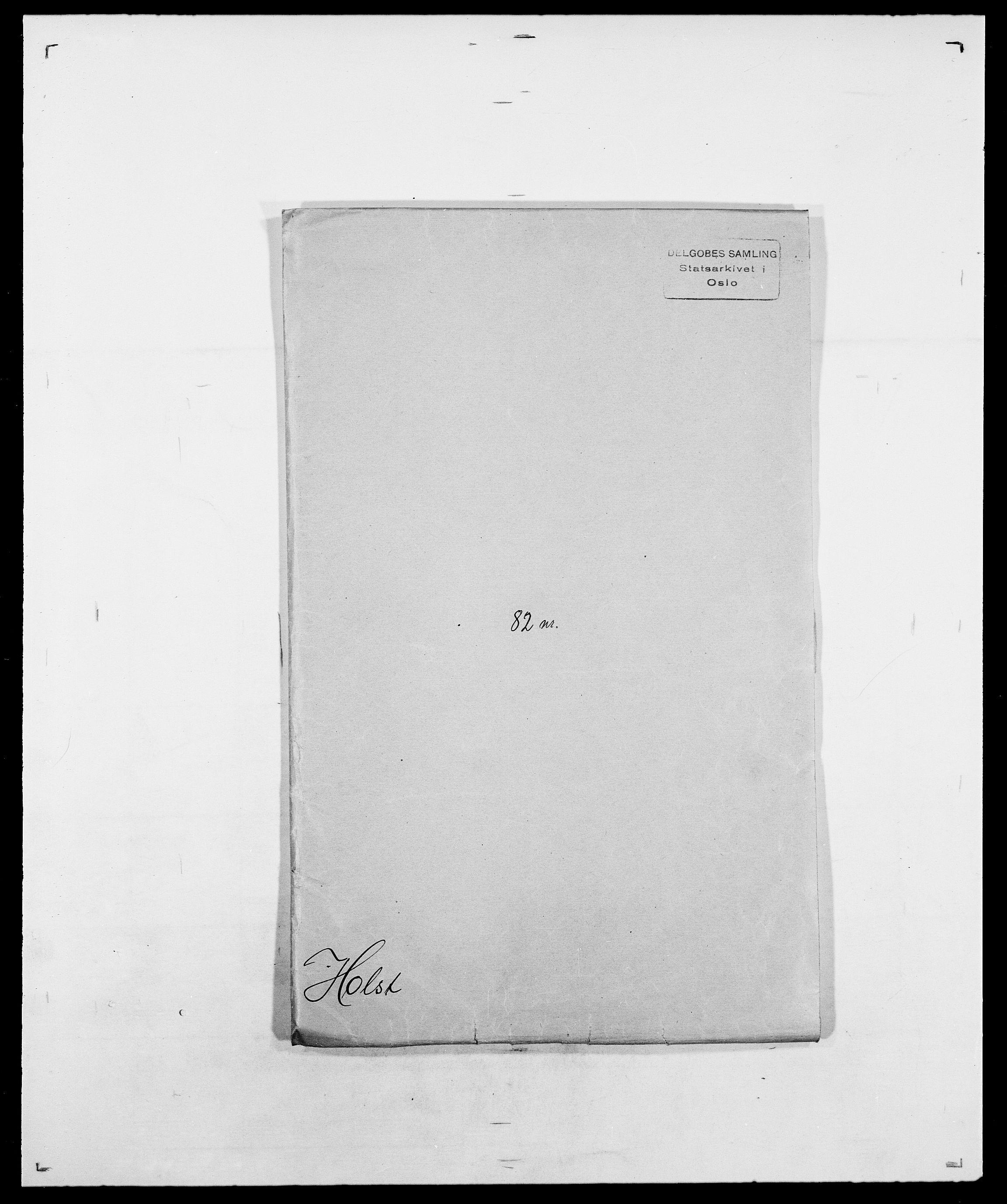 SAO, Delgobe, Charles Antoine - samling, D/Da/L0018: Hoch - Howert, s. 676