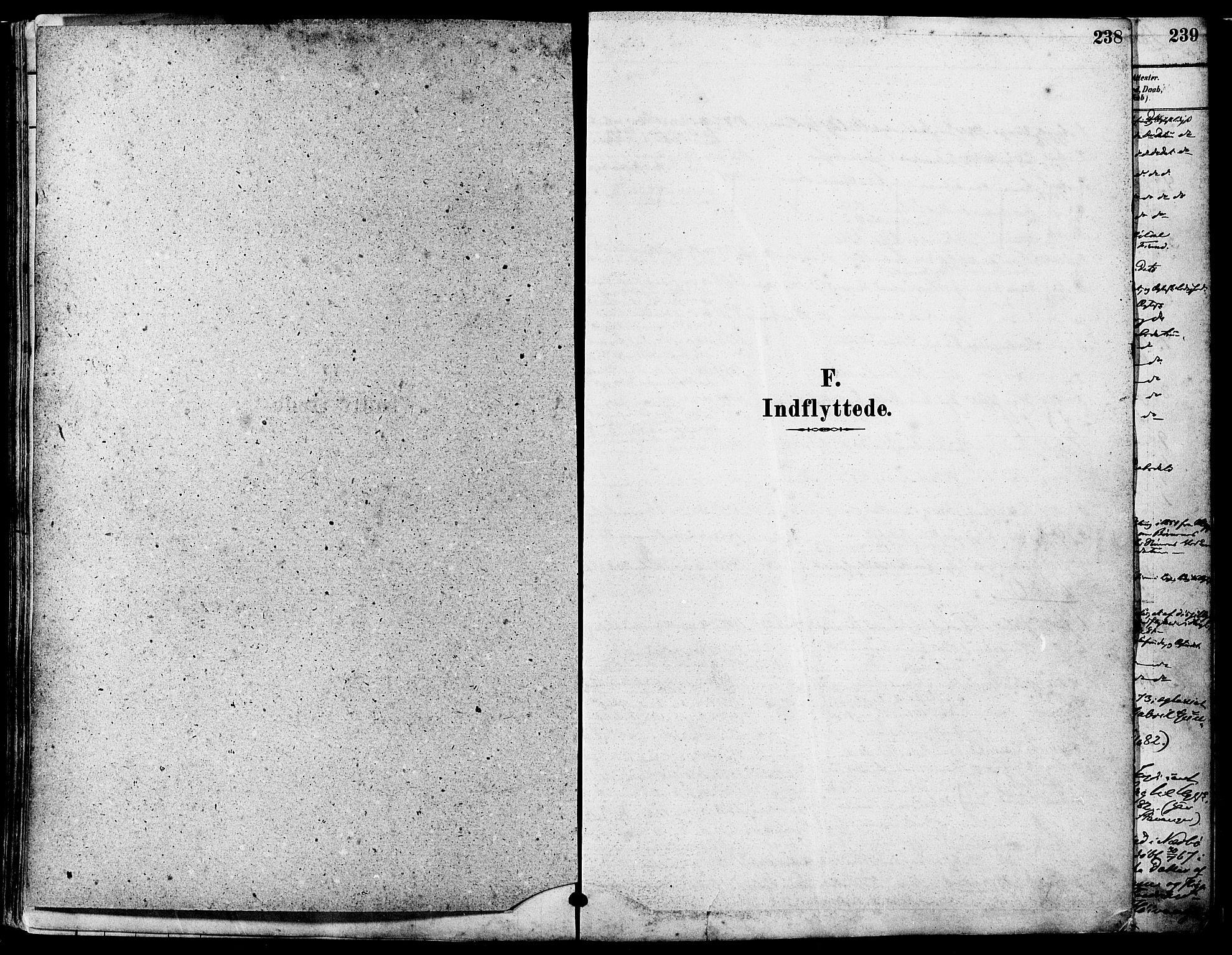SAST, Høyland sokneprestkontor, 30BA/L0011: Ministerialbok nr. A 10, 1878-1888, s. 238