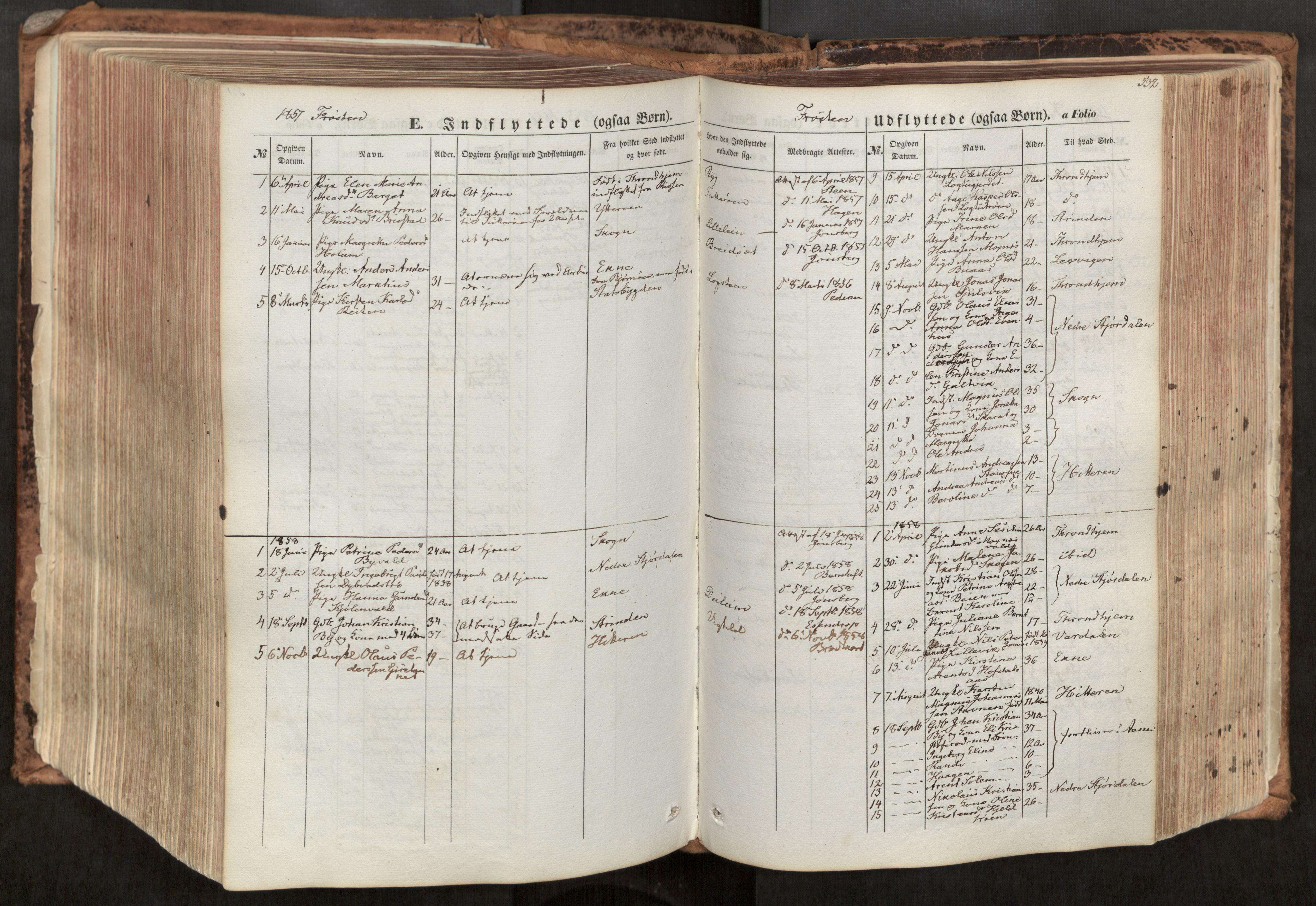 SAT, Ministerialprotokoller, klokkerbøker og fødselsregistre - Nord-Trøndelag, 713/L0116: Ministerialbok nr. 713A07, 1850-1877, s. 532