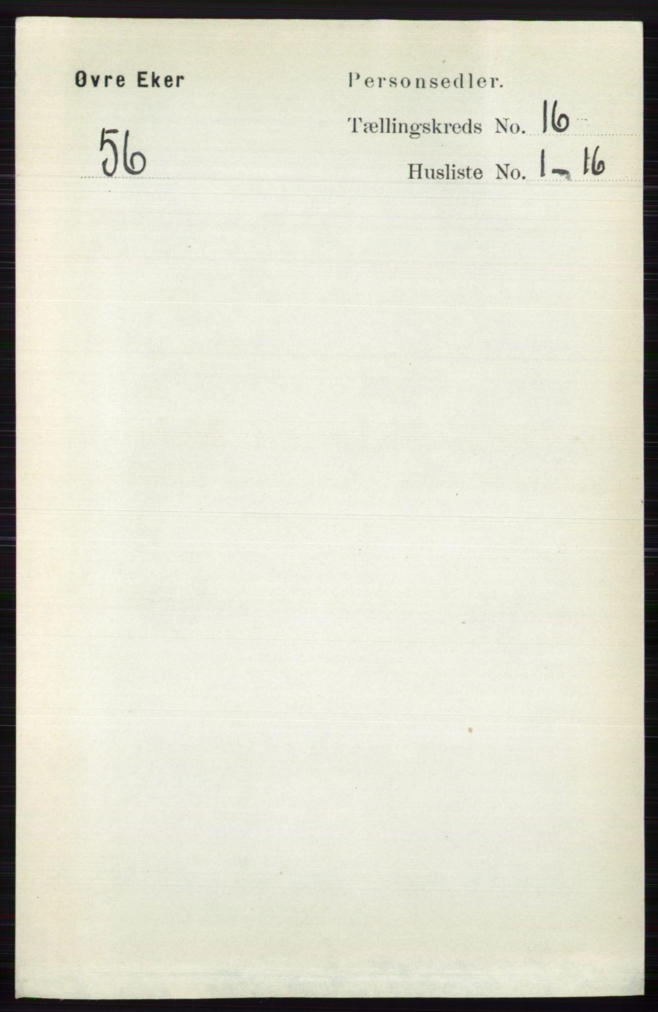RA, Folketelling 1891 for 0624 Øvre Eiker herred, 1891, s. 7645