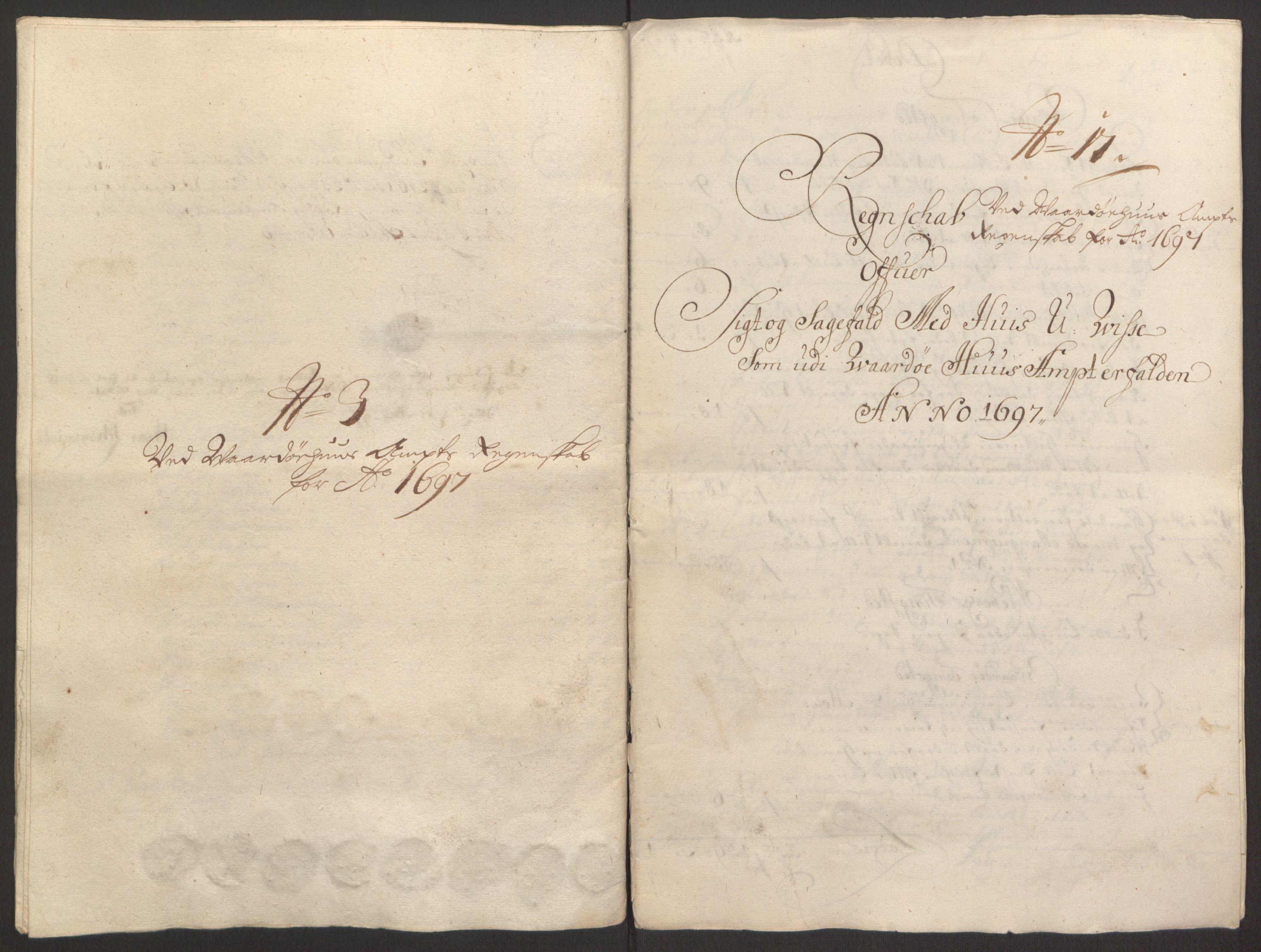 RA, Rentekammeret inntil 1814, Reviderte regnskaper, Fogderegnskap, R69/L4851: Fogderegnskap Finnmark/Vardøhus, 1691-1700, s. 323