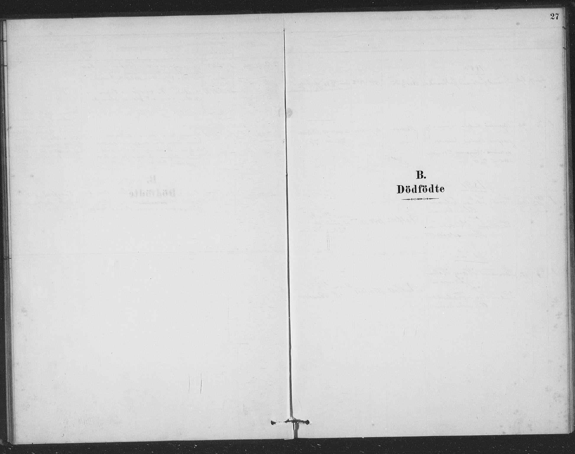SAKO, Bamble kirkebøker, F/Fb/L0001: Ministerialbok nr. II 1, 1878-1899, s. 27