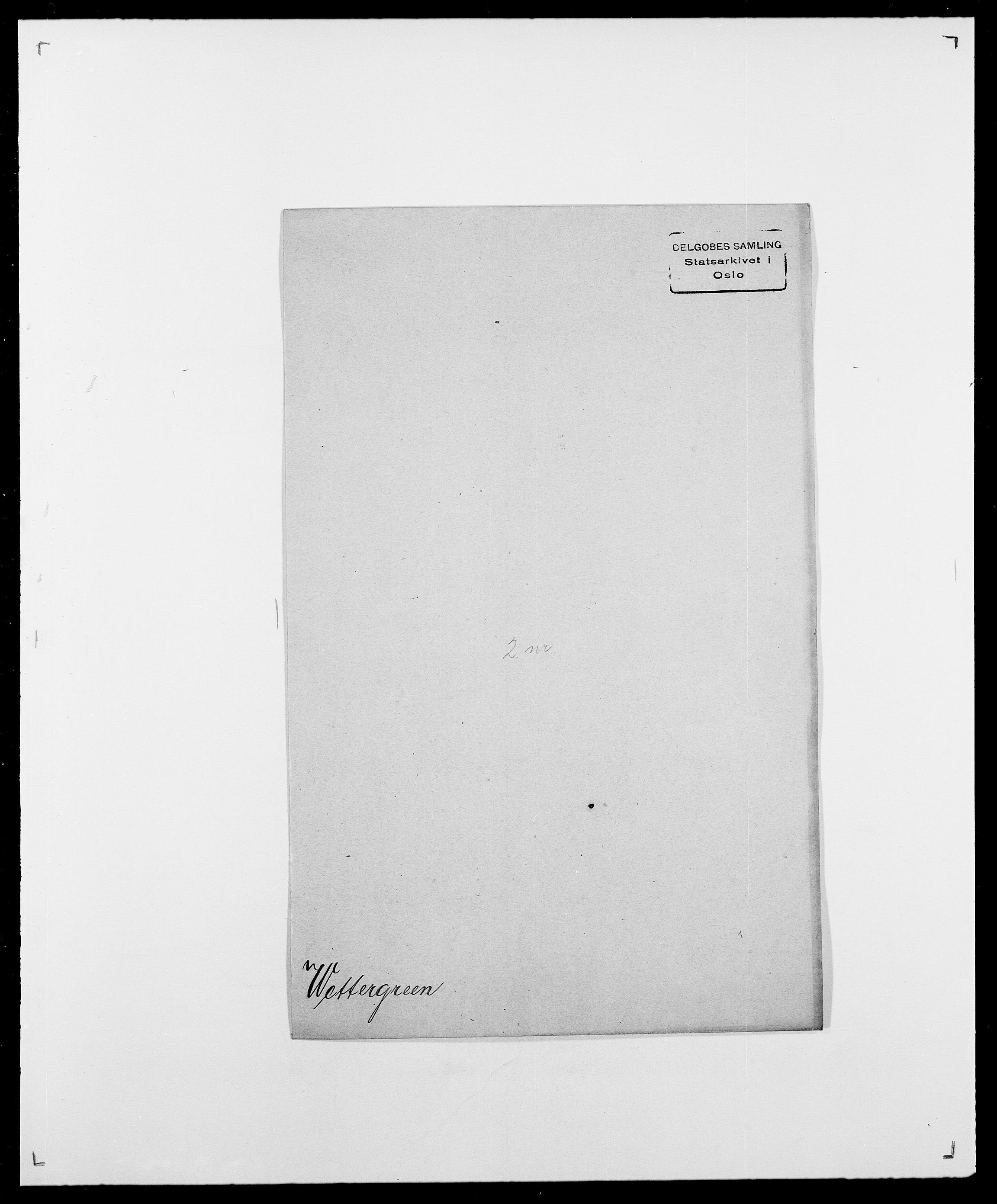 SAO, Delgobe, Charles Antoine - samling, D/Da/L0041: Vemmestad - Viker, s. 345