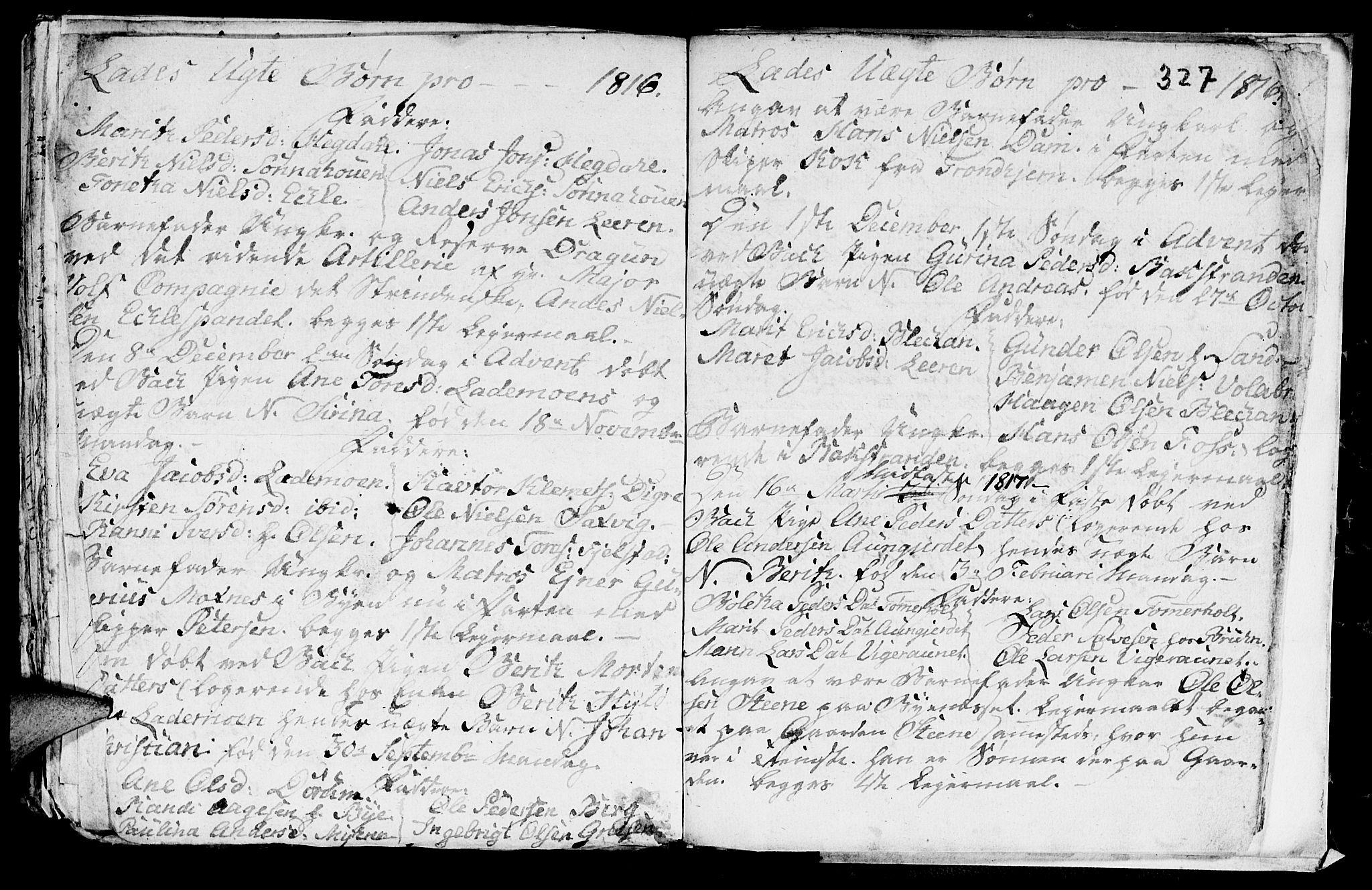 SAT, Ministerialprotokoller, klokkerbøker og fødselsregistre - Sør-Trøndelag, 606/L0305: Klokkerbok nr. 606C01, 1757-1819, s. 327