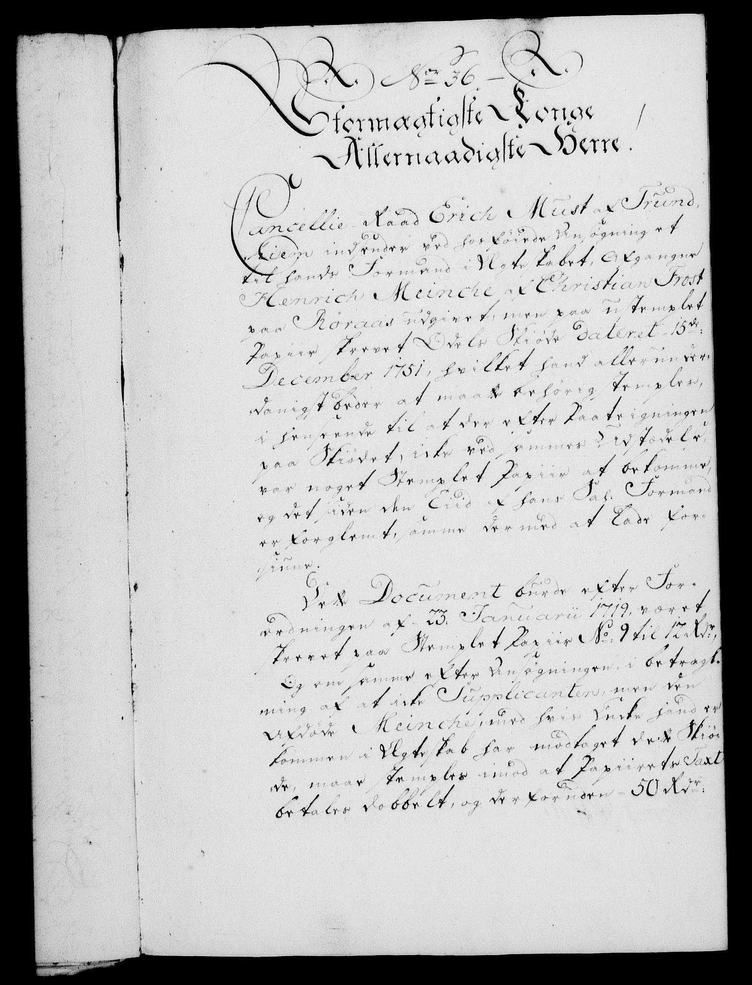 RA, Rentekammeret, Kammerkanselliet, G/Gf/Gfa/L0046: Norsk relasjons- og resolusjonsprotokoll (merket RK 52.46), 1764, s. 161