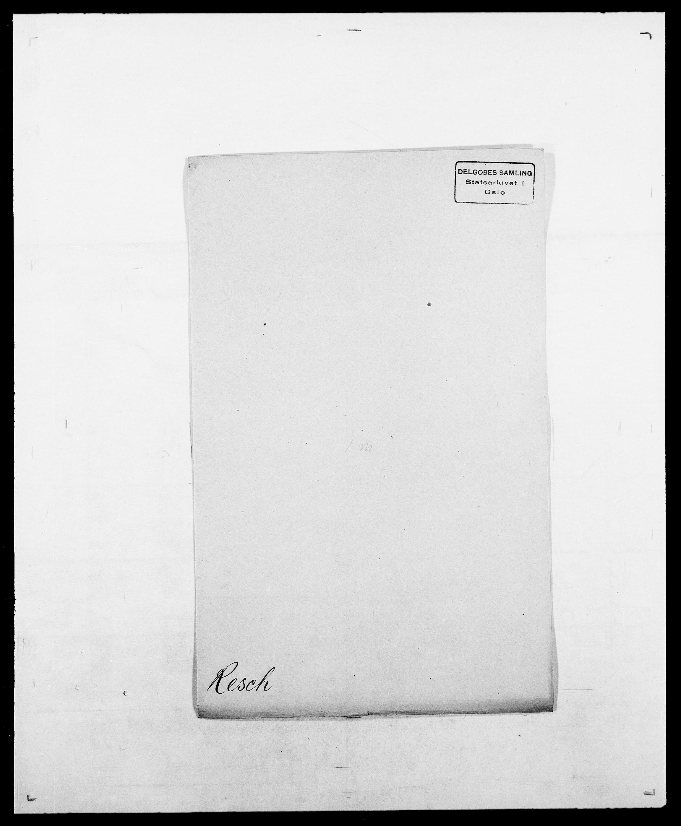 SAO, Delgobe, Charles Antoine - samling, D/Da/L0032: Rabakovsky - Rivertz, s. 420