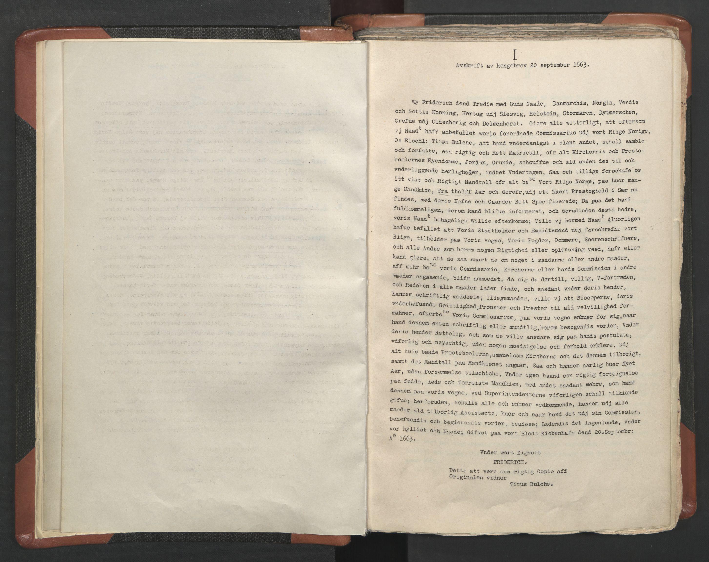 RA, Sogneprestenes manntall 1664-1666, nr. 5: Hedmark prosti, 1664-1666, s. upaginert