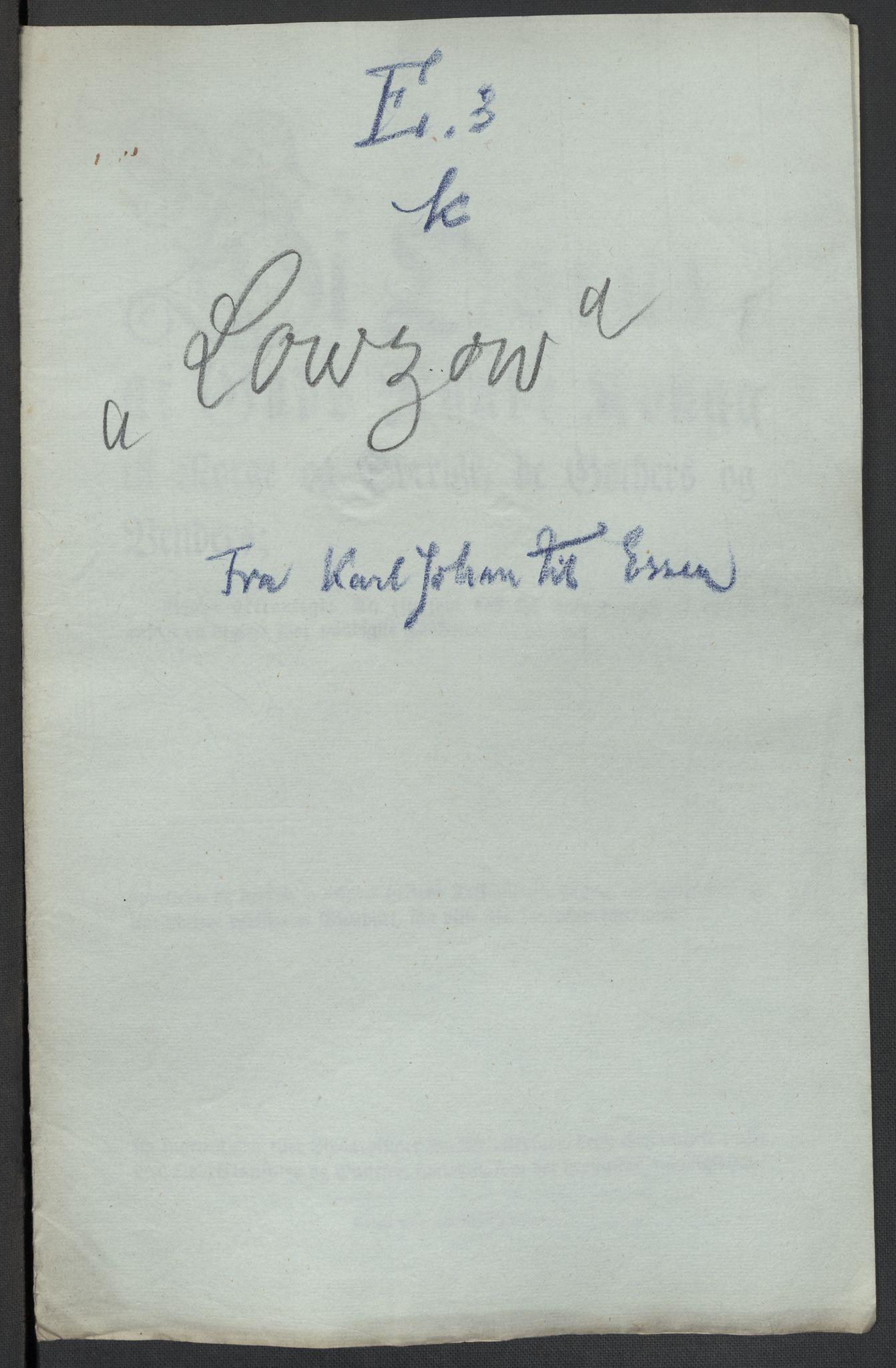 RA, Christie, Wilhelm Frimann Koren, F/L0005, 1815-1816, s. 255