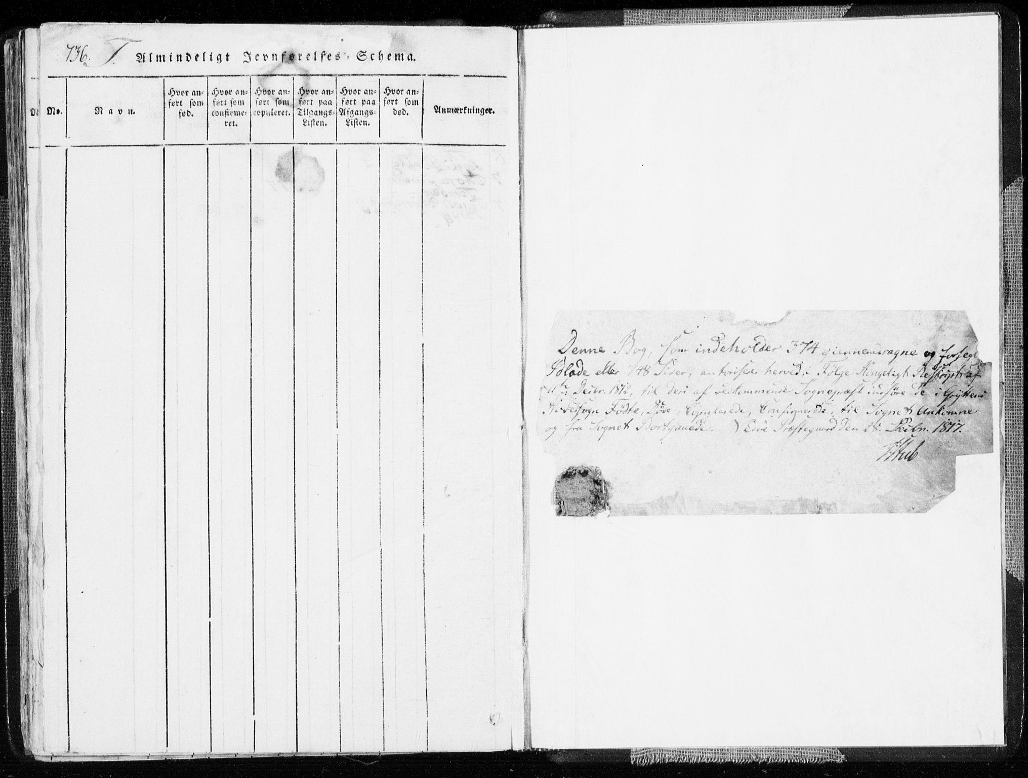 SAT, Ministerialprotokoller, klokkerbøker og fødselsregistre - Møre og Romsdal, 544/L0571: Ministerialbok nr. 544A04, 1818-1853