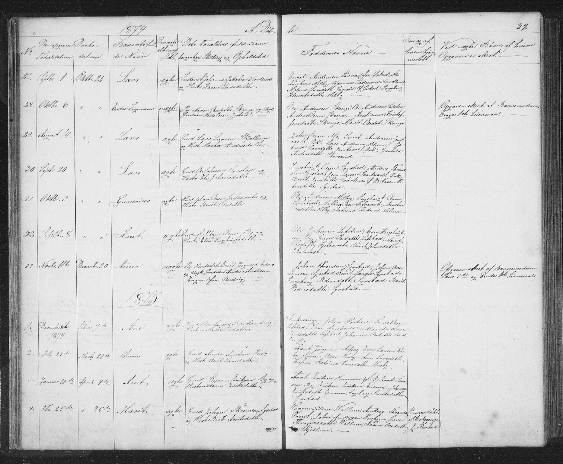 SAT, Ministerialprotokoller, klokkerbøker og fødselsregistre - Sør-Trøndelag, 667/L0798: Klokkerbok nr. 667C03, 1867-1929, s. 29