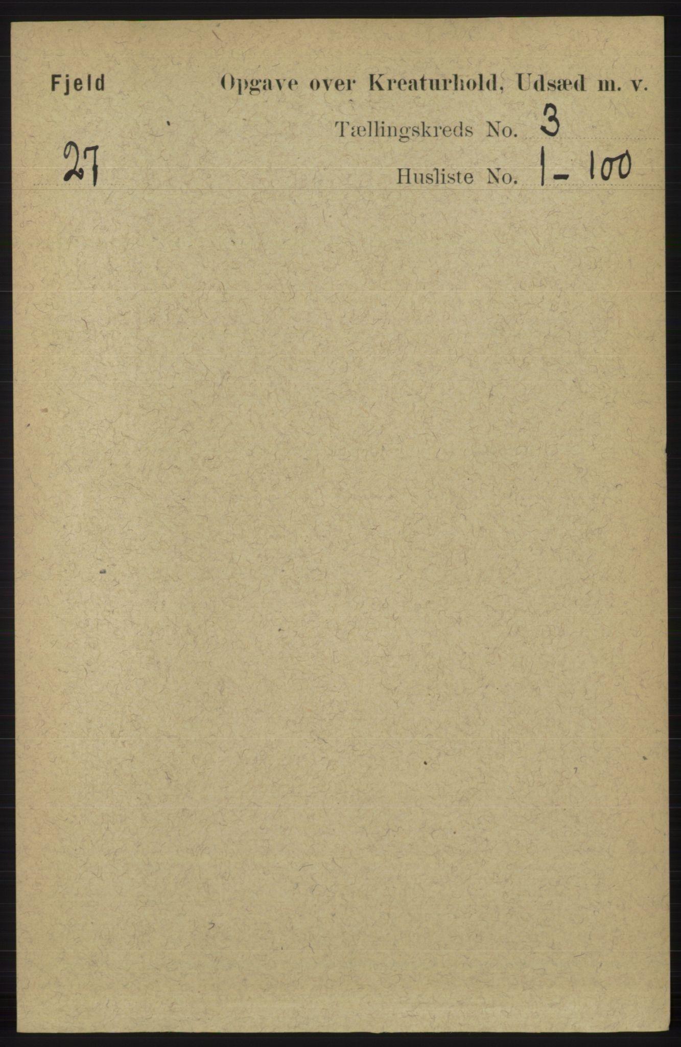 RA, Folketelling 1891 for 1246 Fjell herred, 1891, s. 4170