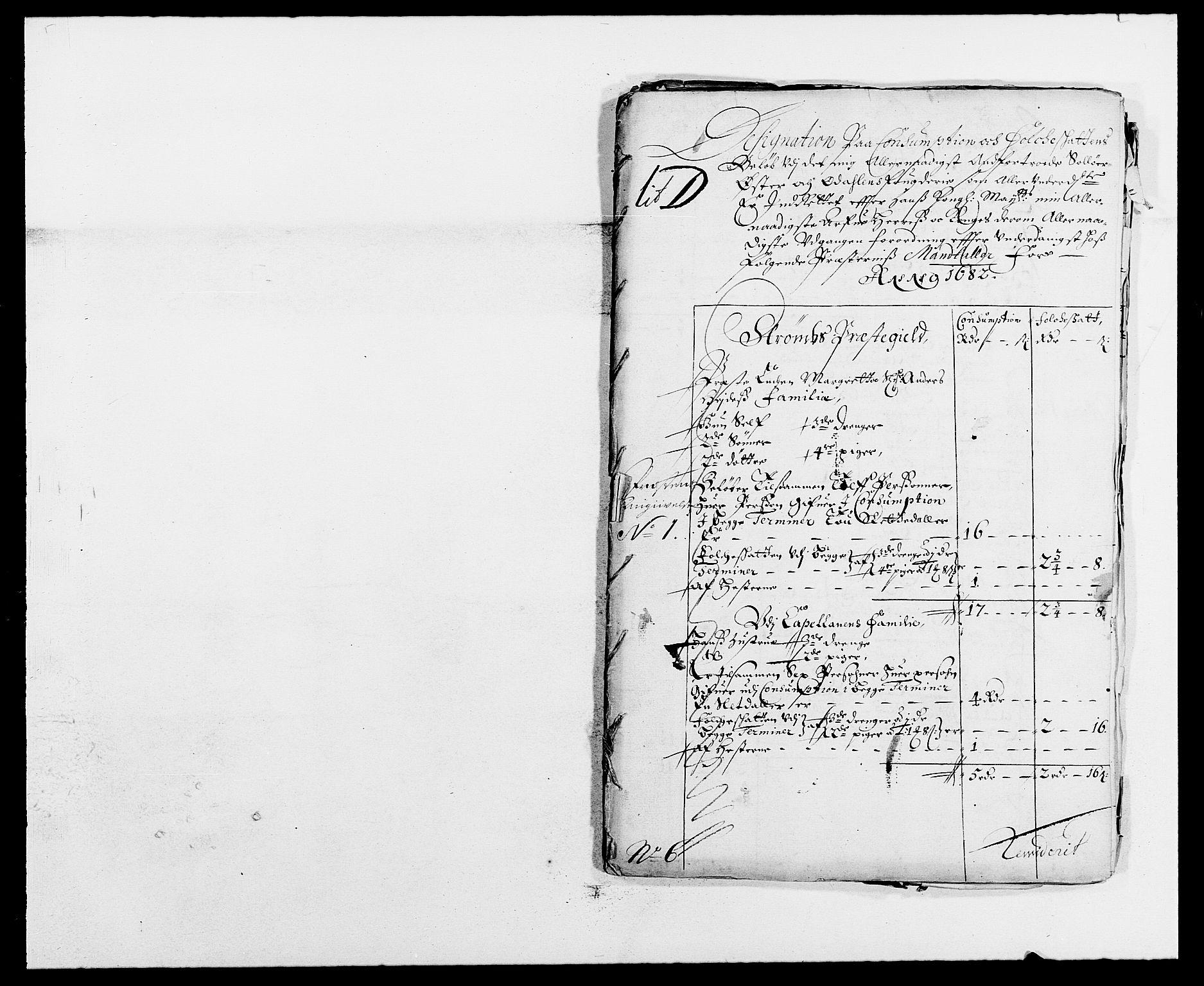 RA, Rentekammeret inntil 1814, Reviderte regnskaper, Fogderegnskap, R13/L0819: Fogderegnskap Solør, Odal og Østerdal, 1682, s. 191
