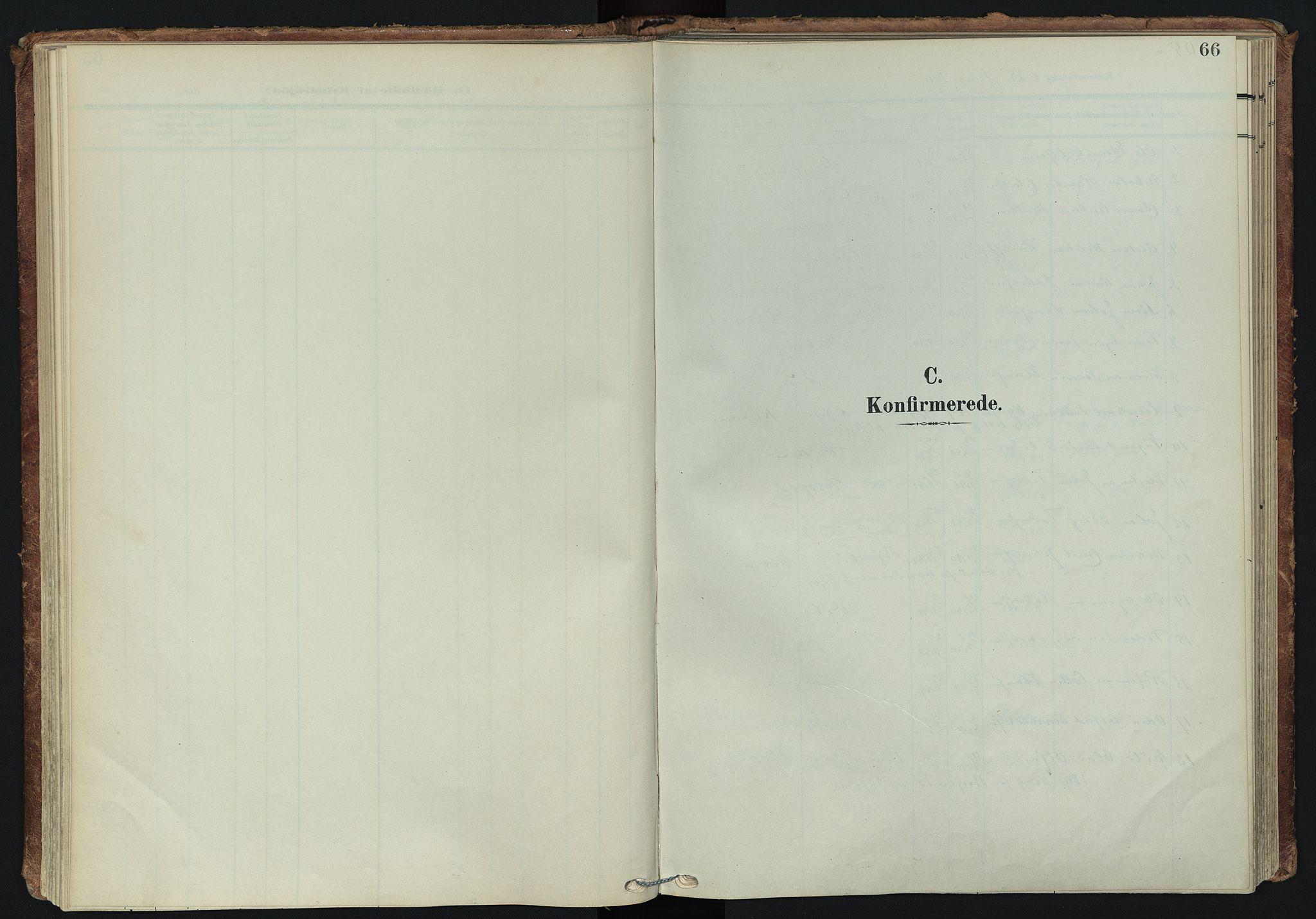 SATØ, Tranøy sokneprestkontor, I/Ia/Iaa/L0014kirke: Ministerialbok nr. 14, 1905-1919, s. 66