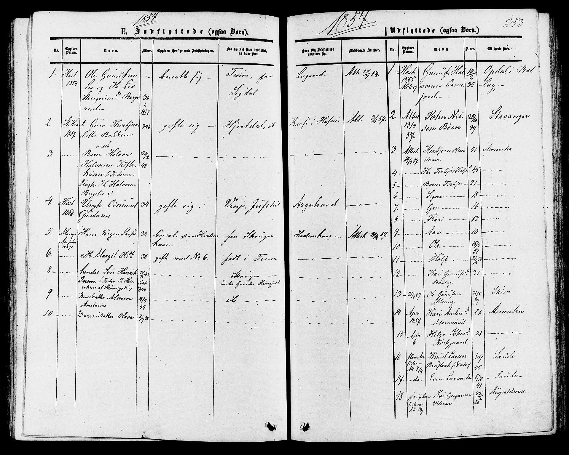 SAKO, Tinn kirkebøker, F/Fa/L0006: Ministerialbok nr. I 6, 1857-1878, s. 353