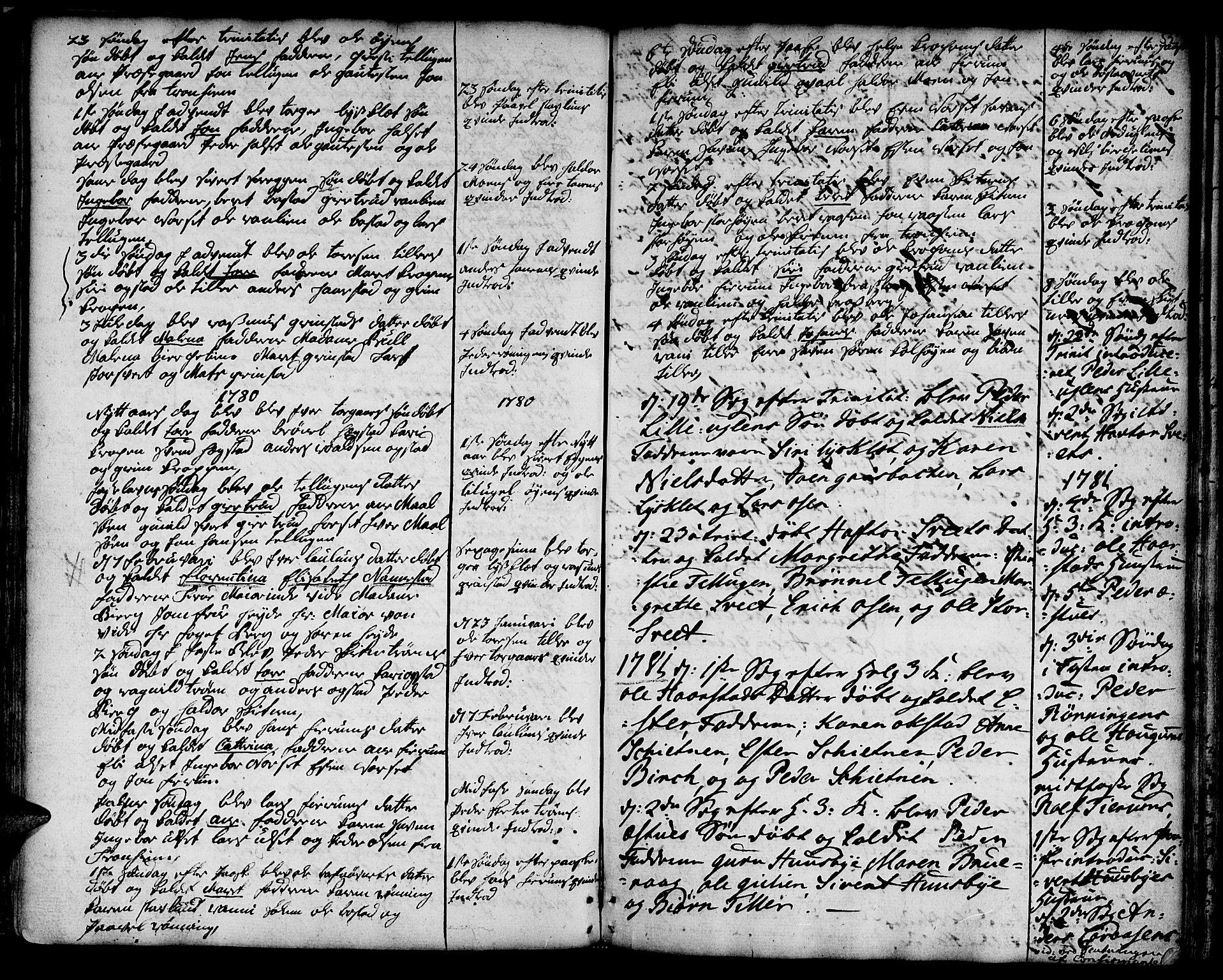 SAT, Ministerialprotokoller, klokkerbøker og fødselsregistre - Sør-Trøndelag, 618/L0437: Ministerialbok nr. 618A02, 1749-1782, s. 52