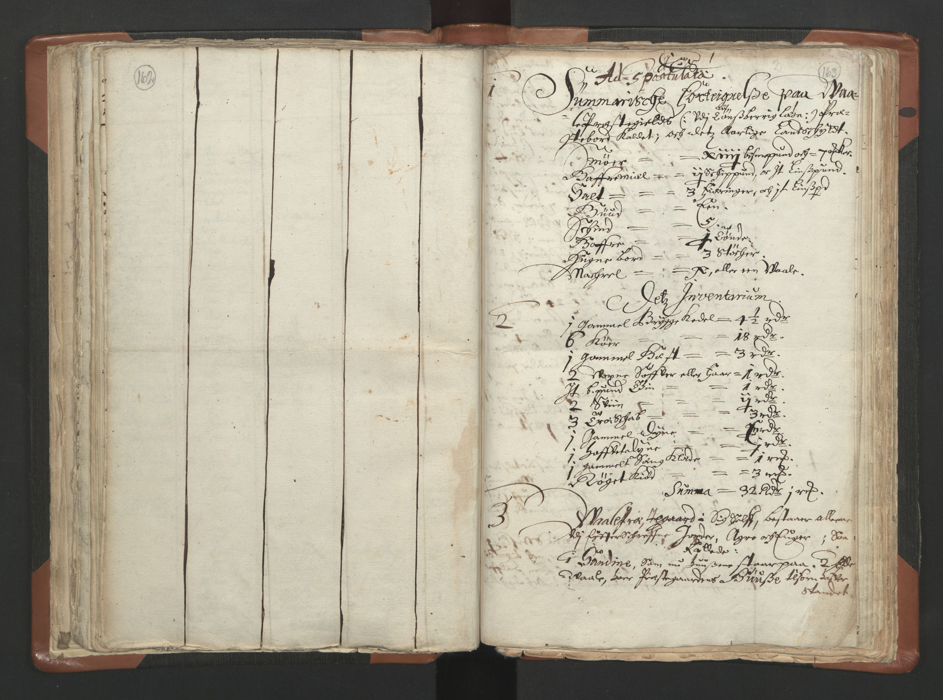 RA, Sogneprestenes manntall 1664-1666, nr. 10: Tønsberg prosti, 1664-1666, s. 162-163