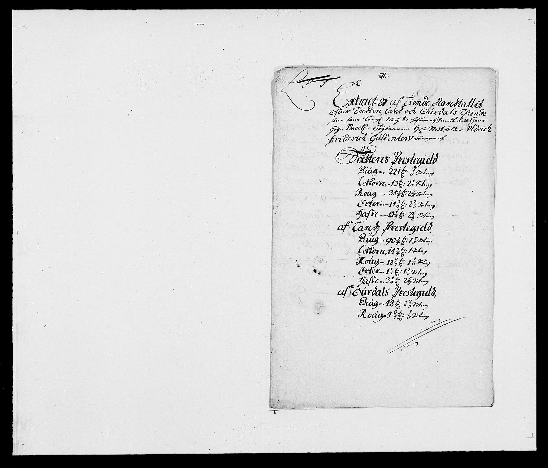 RA, Rentekammeret inntil 1814, Reviderte regnskaper, Fogderegnskap, R18/L1279: Fogderegnskap Hadeland, Toten og Valdres, 1681, s. 122