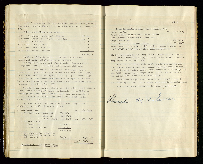 SAST, PA 1516 - Nor Hotellkompani A/S, A/L0001: Referatprotokoll, 1948-1855, s. 43